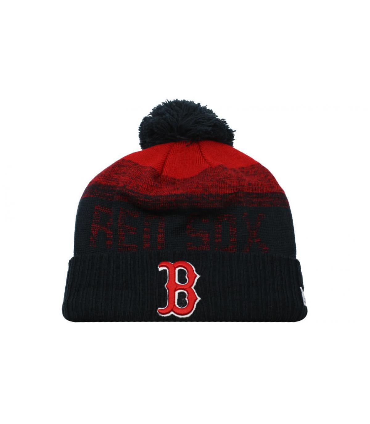 Schwarze Bommel Mütze B