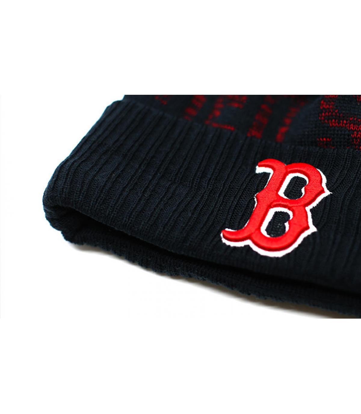Details Mütze MLB Sport Knit Boston - Abbildung 3