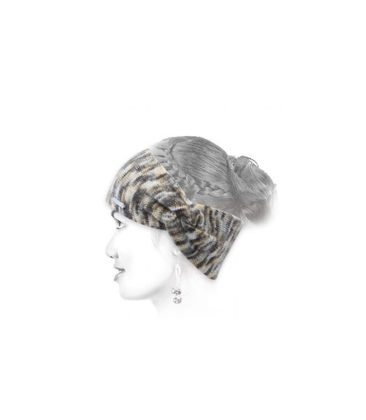 Stirnband beige Seeberger