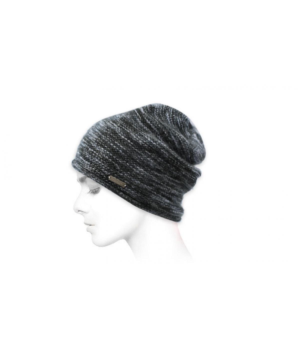 Mütze grau Seeberger