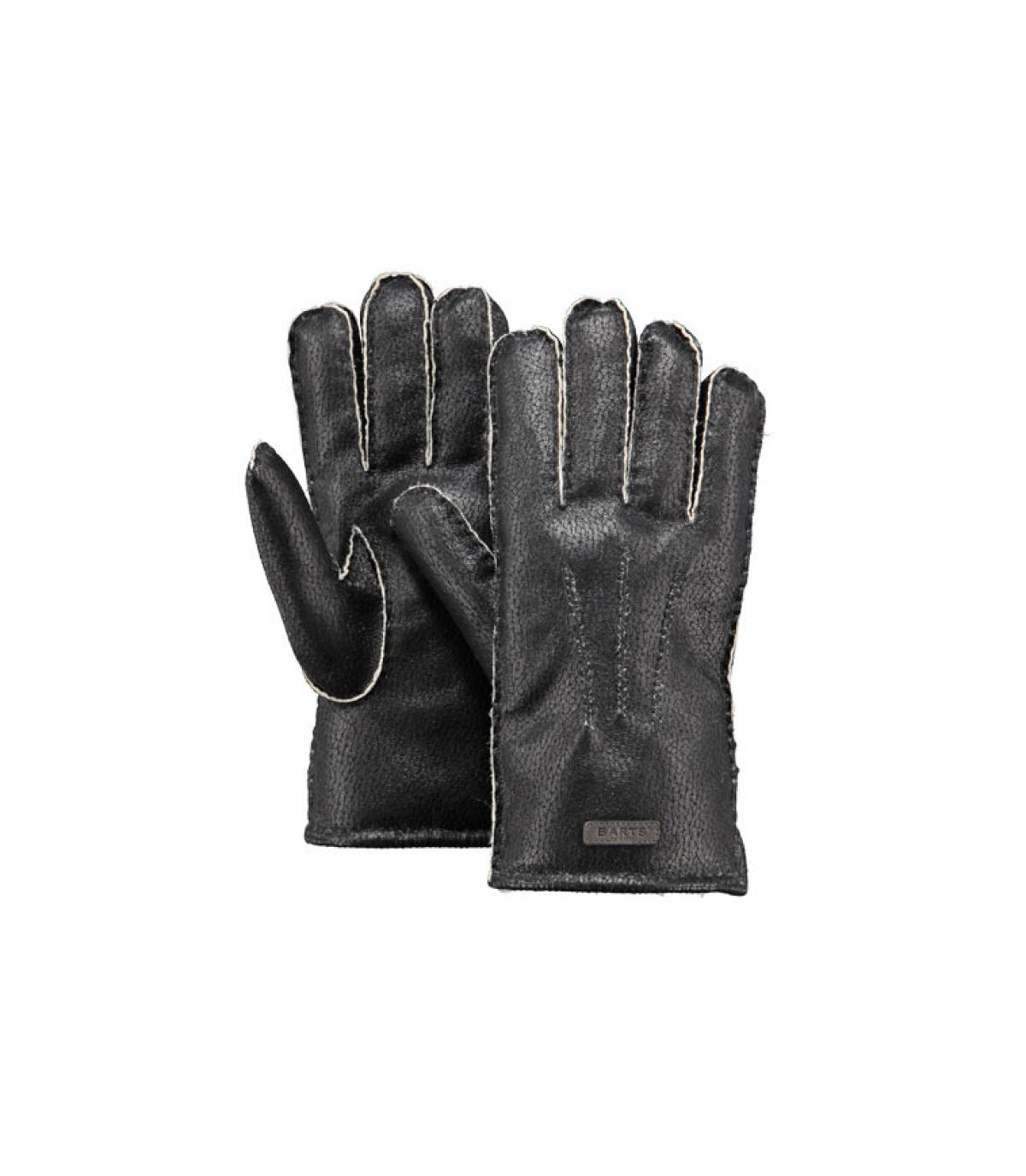 Details Chakku Handschuhe für Herren schwarz - Abbildung 3