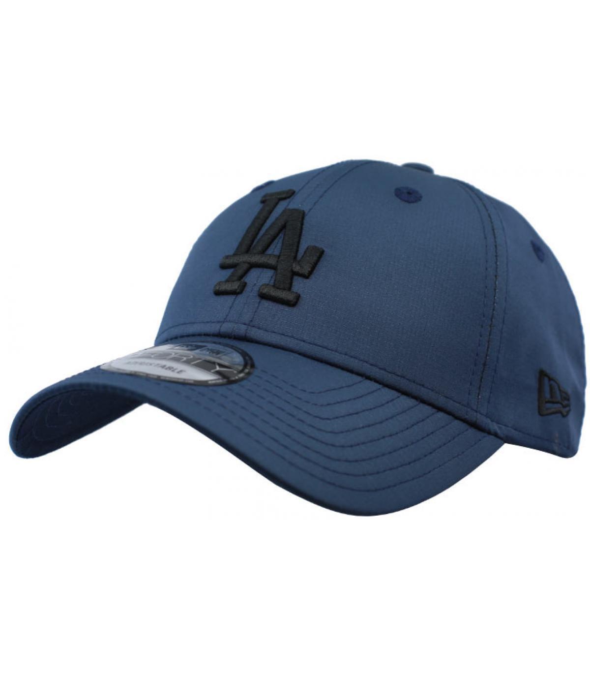 Cap LA blau schwarz