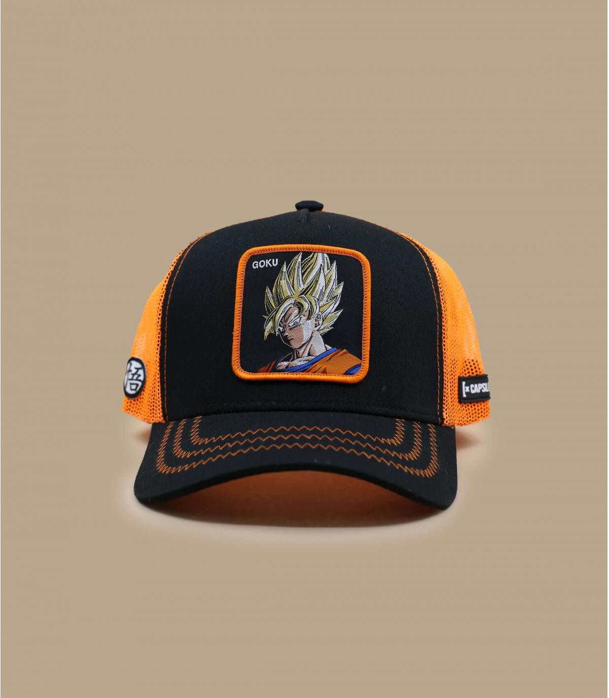 trucker Son Goku schwarz