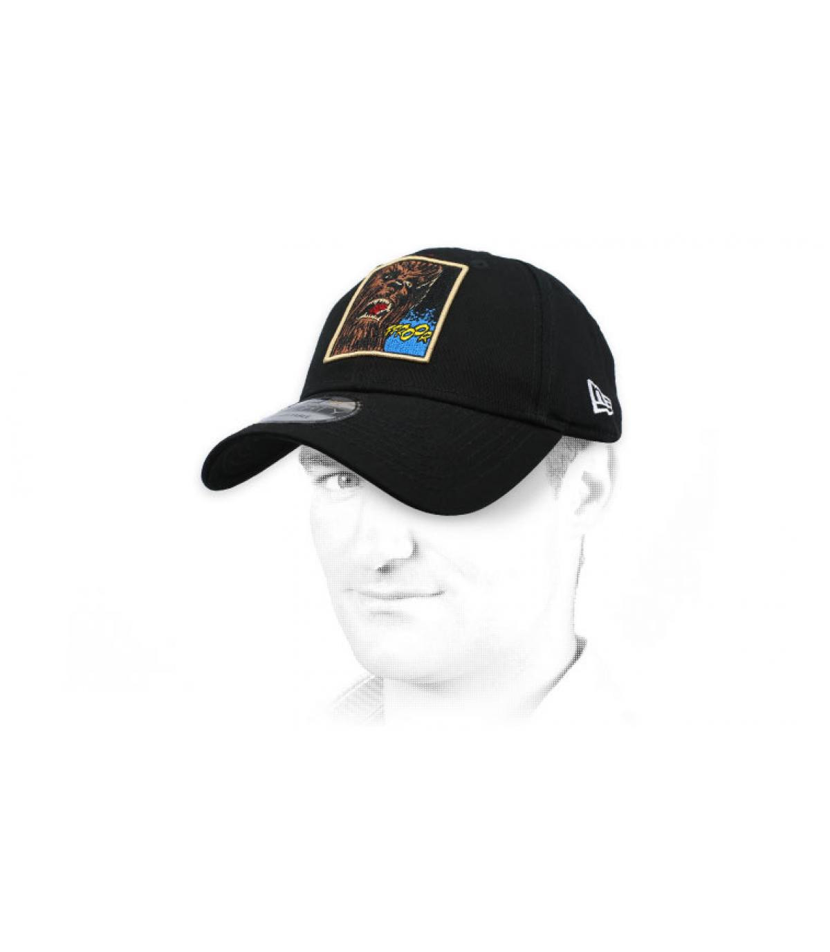 Cap Chewbacca schwarz