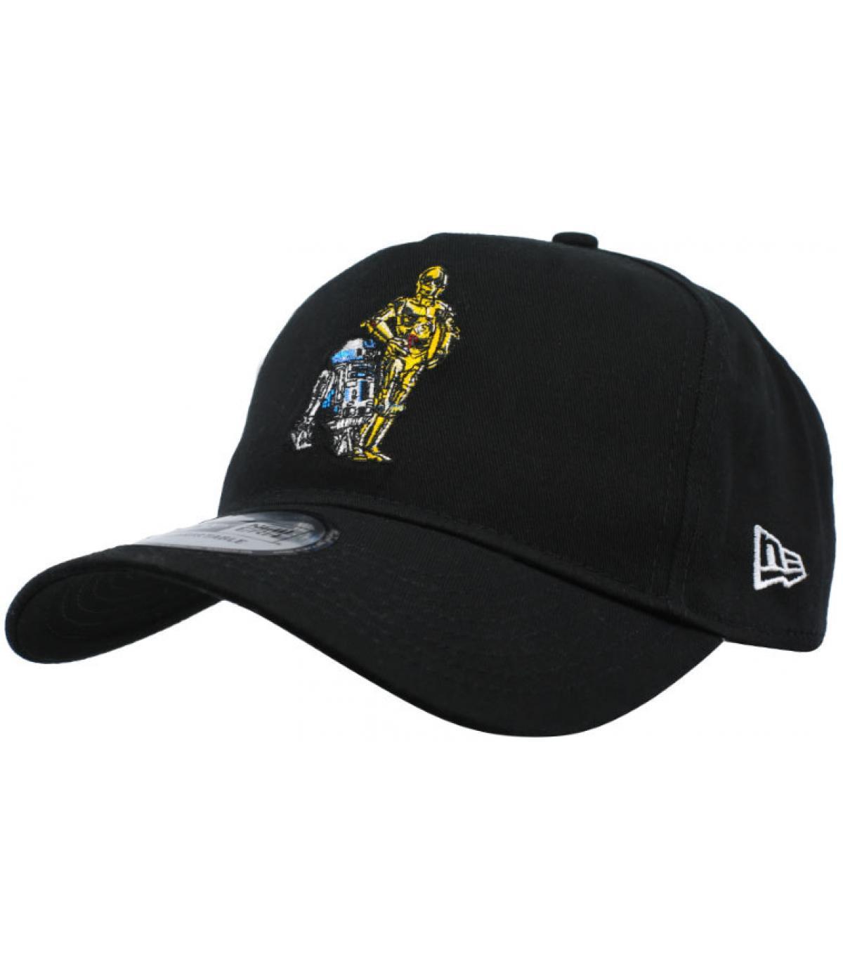Cap Star Wars Droid schwarz