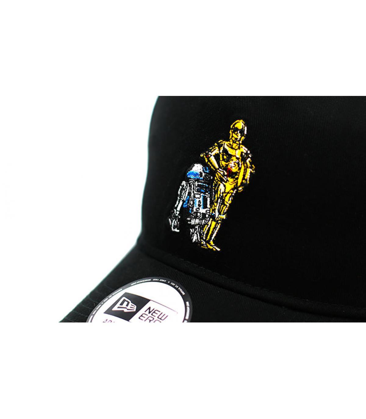 Details Cap Star Wars Droids 940 A Frame black - Abbildung 3