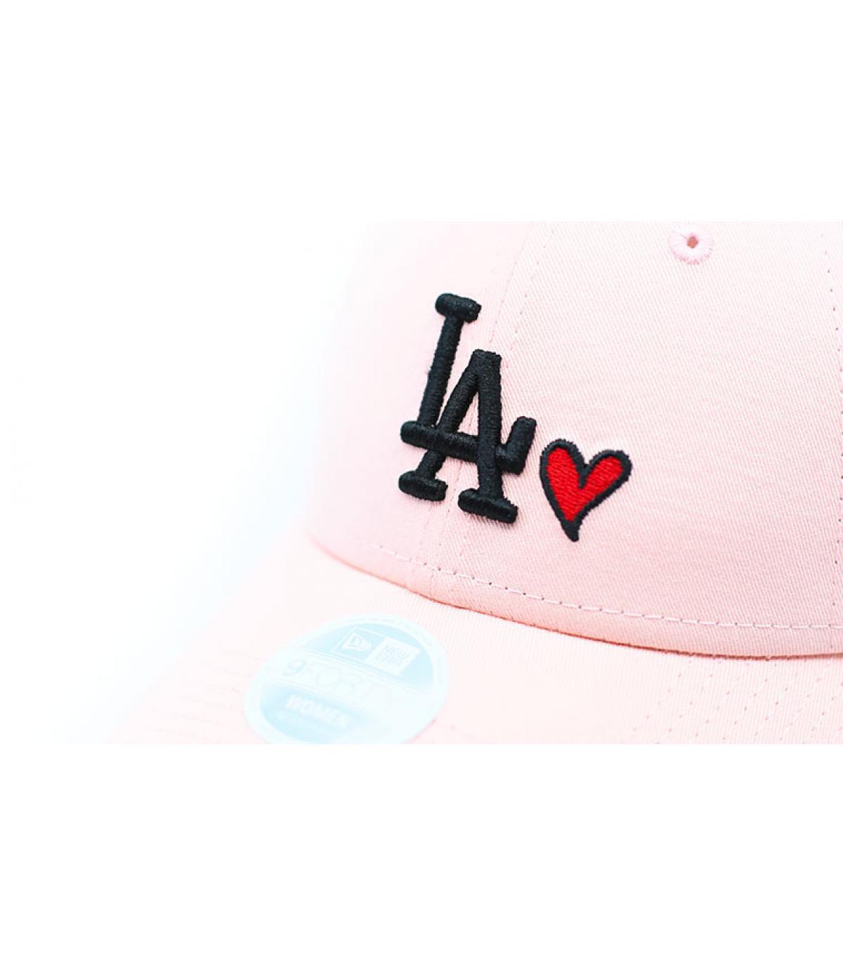 Details Cap Wmns Heart LA 940 pink - Abbildung 3
