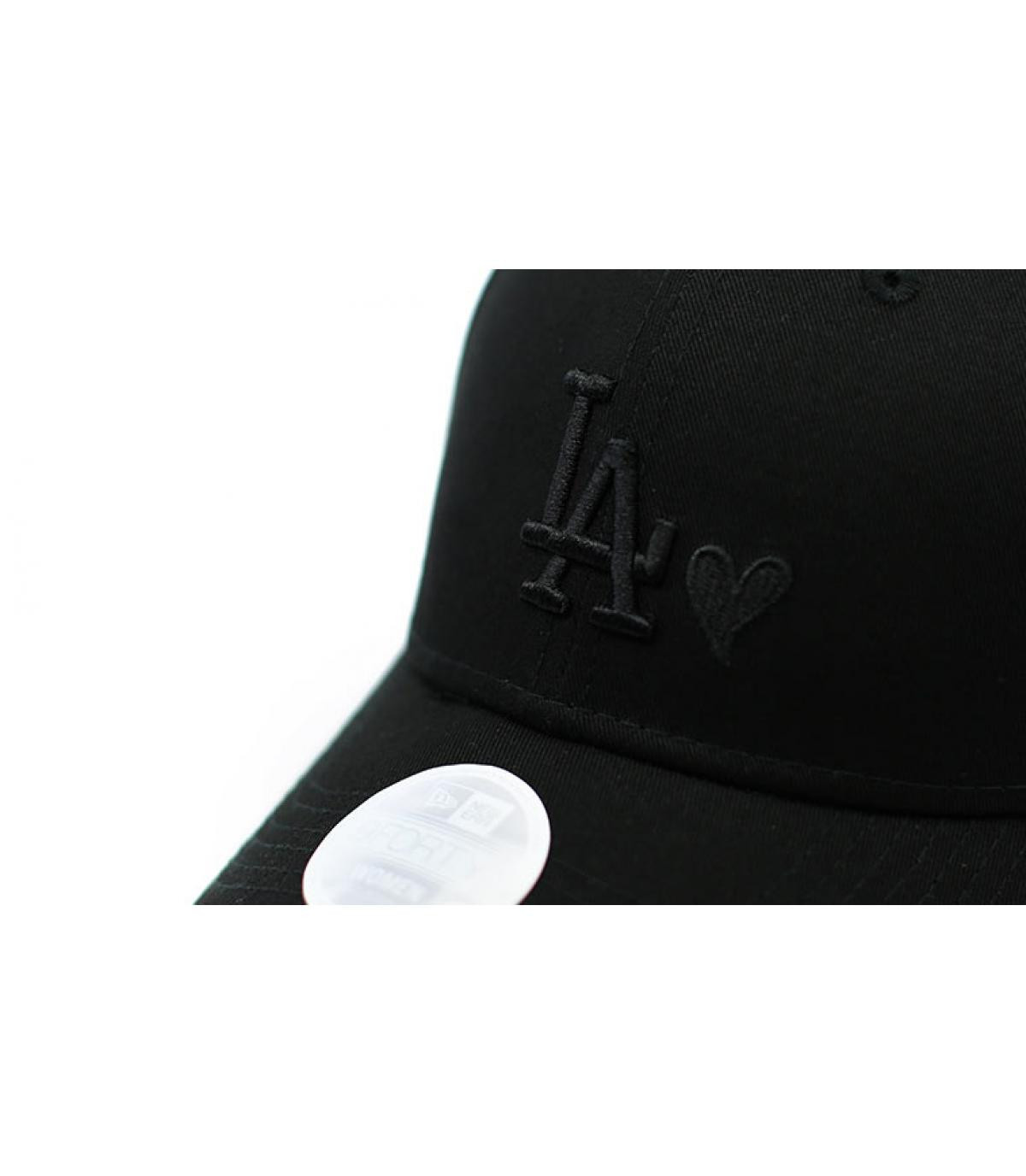 Details Cap Wmns Heart LA 940 black - Abbildung 3