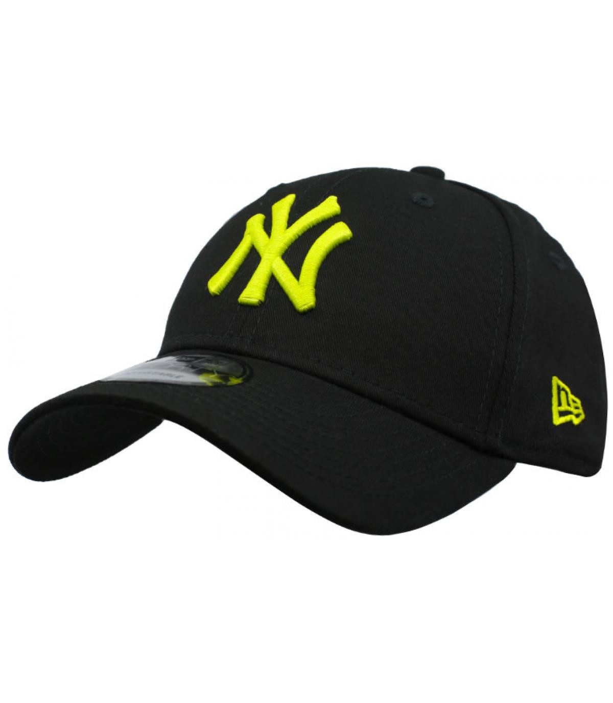 Details Cap League Ess NY 9Forty black cyber green - Abbildung 1