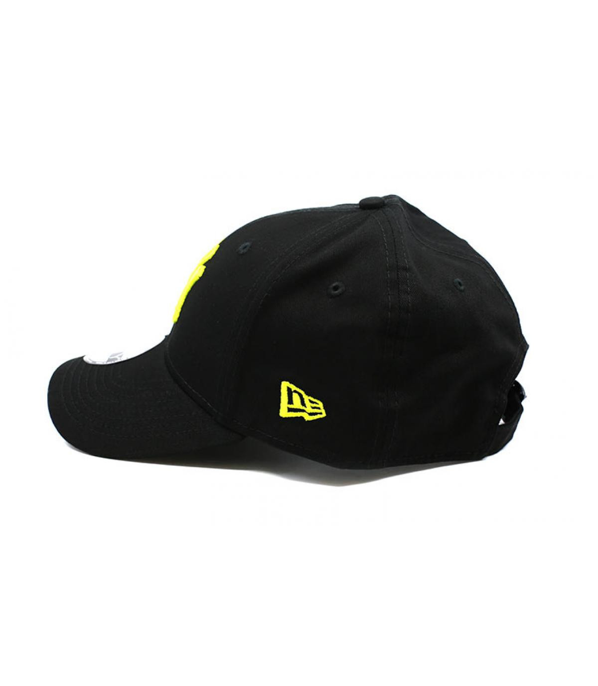 Details Cap League Ess NY 9Forty black cyber green - Abbildung 4