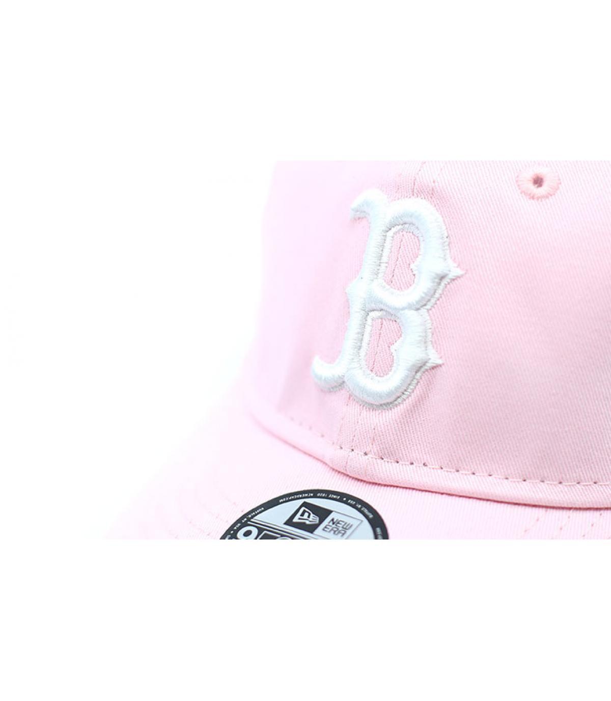 Details Cap League Ess Boston 9Forty pink - Abbildung 3