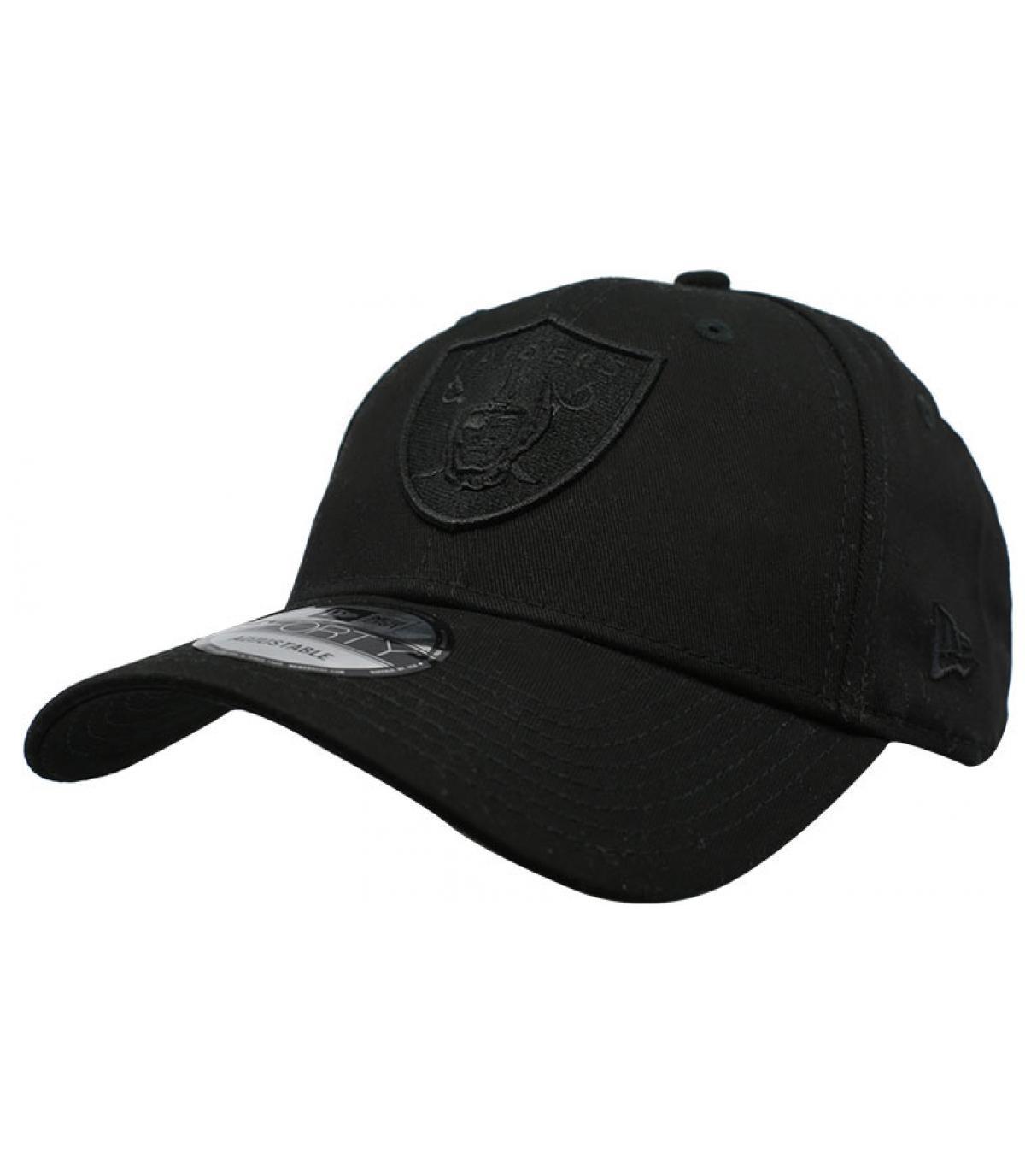 Details Cap 9Forty Raiders Snapback black - Abbildung 2