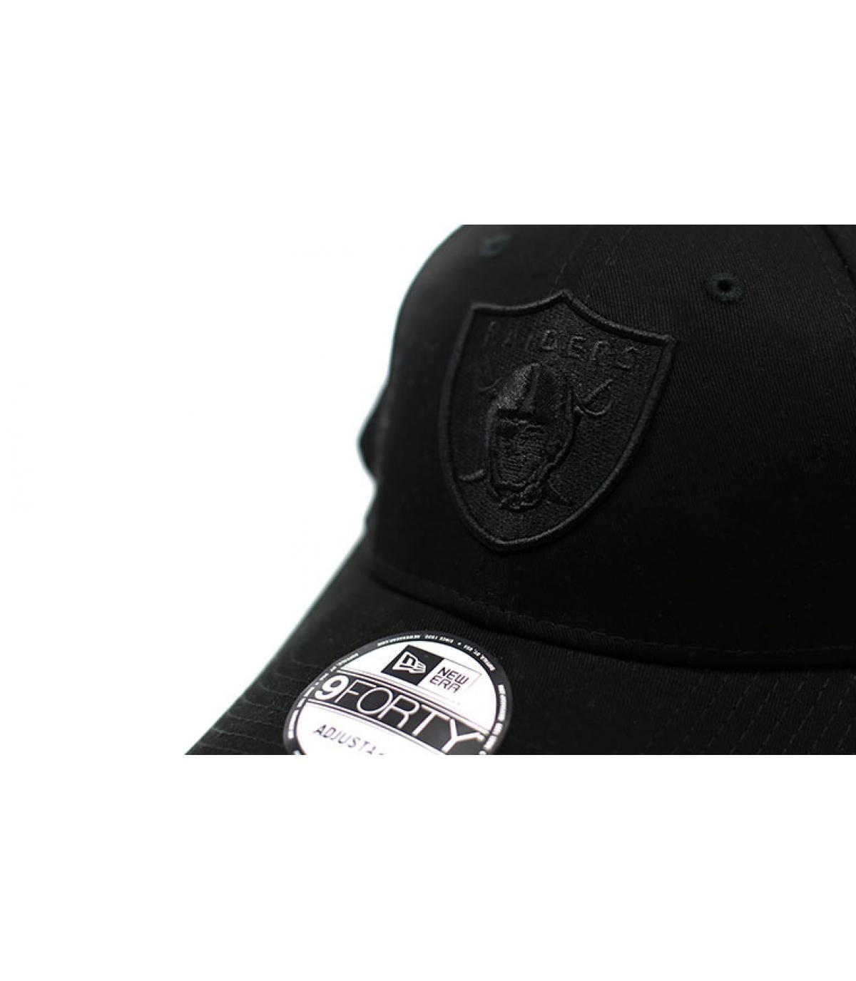 Details Cap 9Forty Raiders Snapback black - Abbildung 3