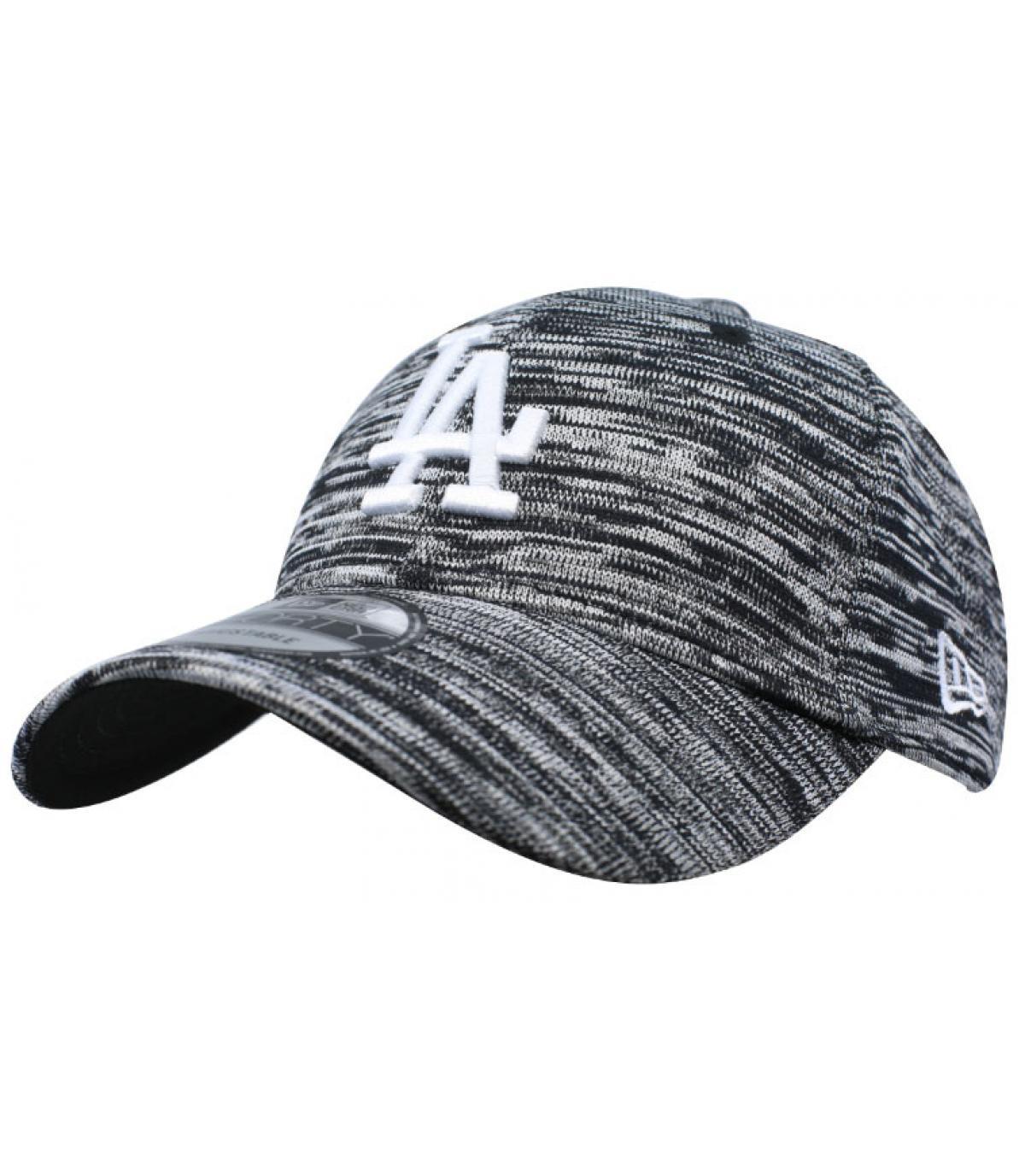 Cap LA grau schwarz Engineered