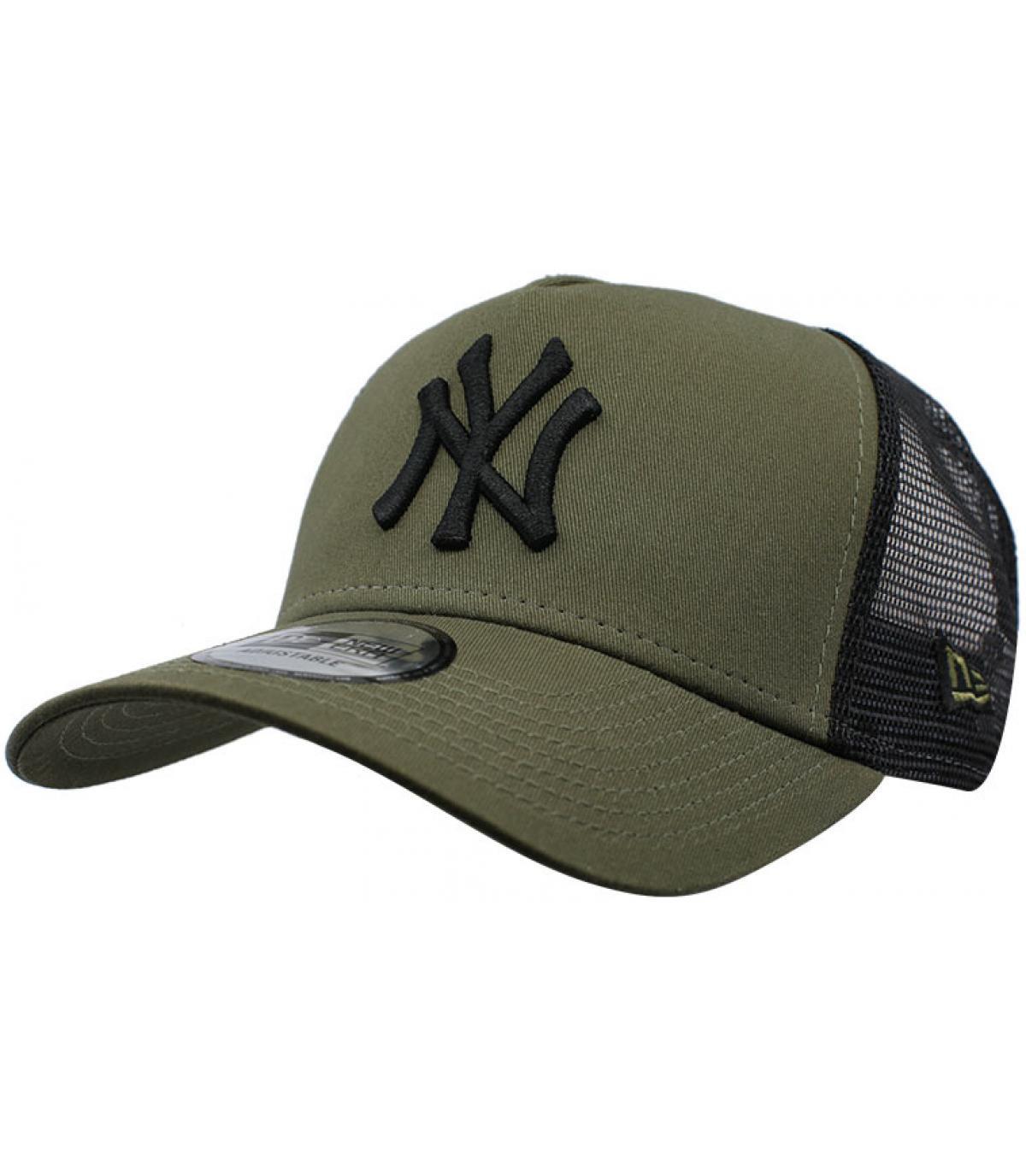 Details Trucker League Ess NY olive black - Abbildung 2