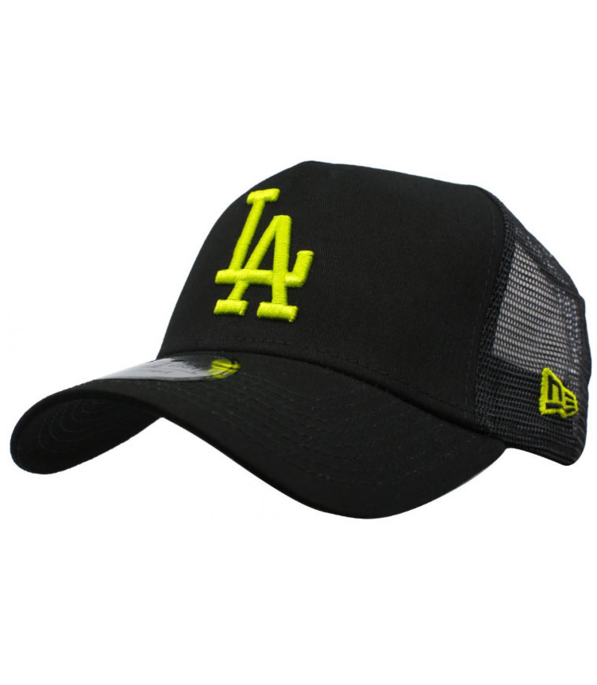 Trucker LA schwarz gelb