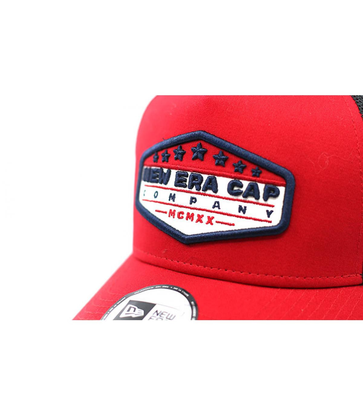 Details Trucker Patch NE red black - Abbildung 3