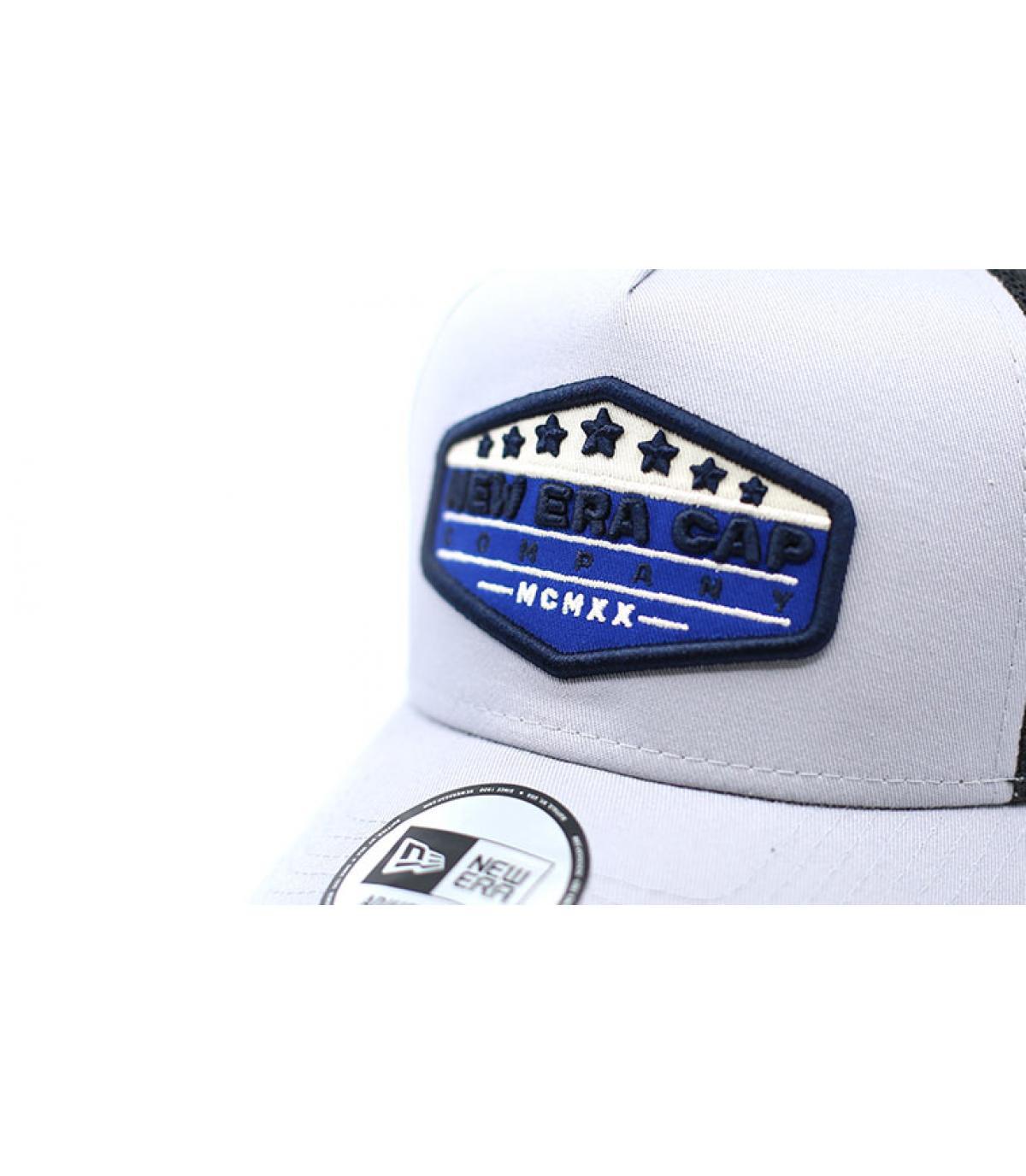 Details Trucker Patch NE gray blue - Abbildung 3