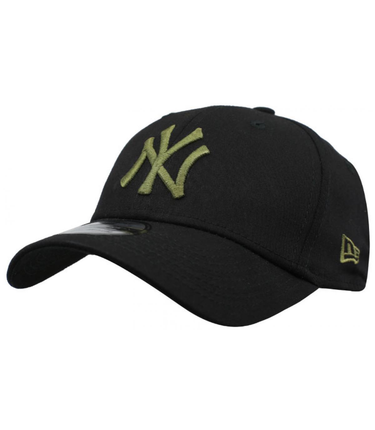 Details Cap League Ess NY 39Thirty black olive - Abbildung 2