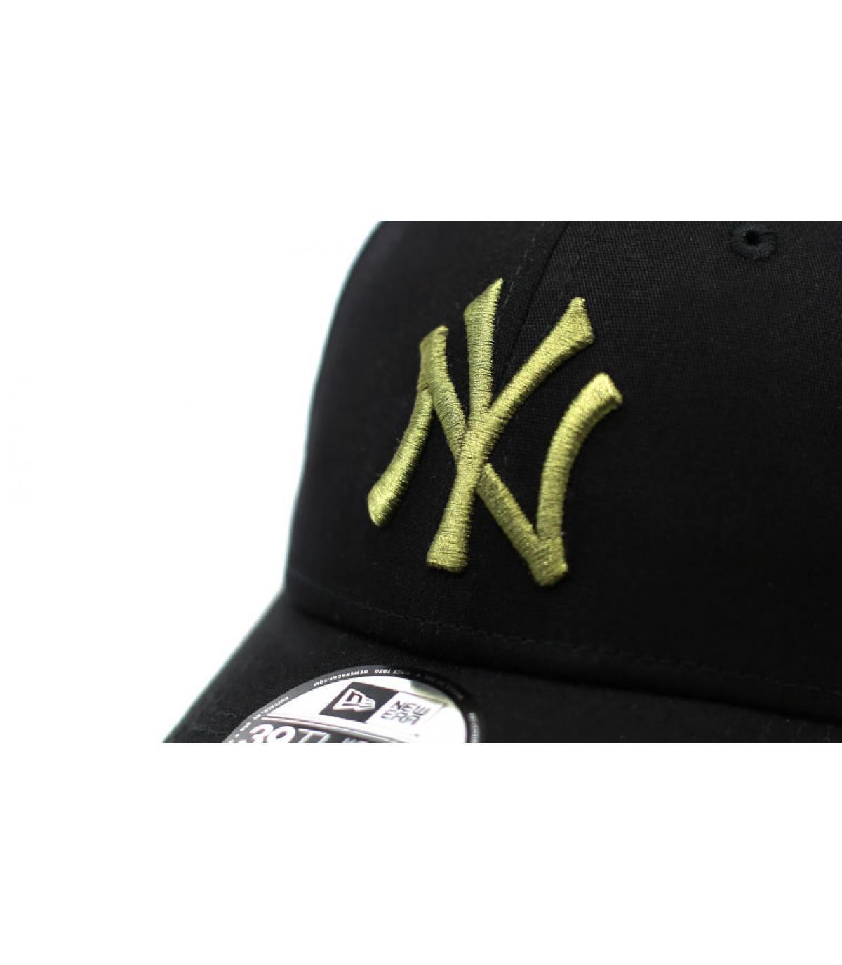 Details Cap League Ess NY 39Thirty black olive - Abbildung 3