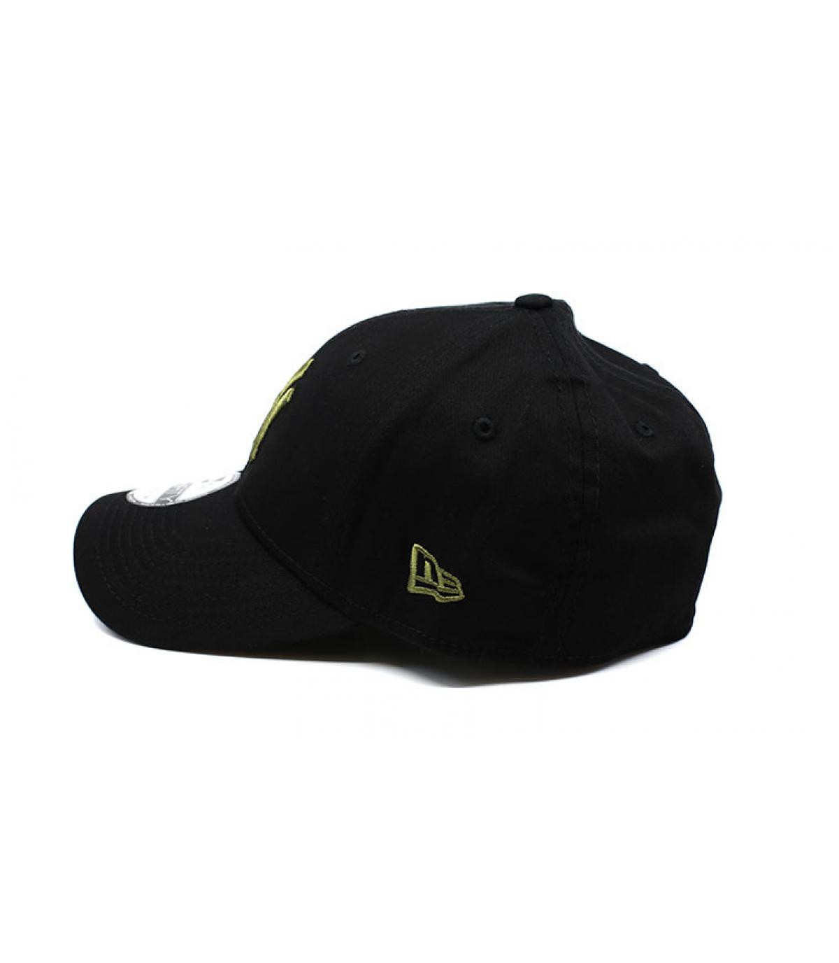 Details Cap League Ess NY 39Thirty black olive - Abbildung 4