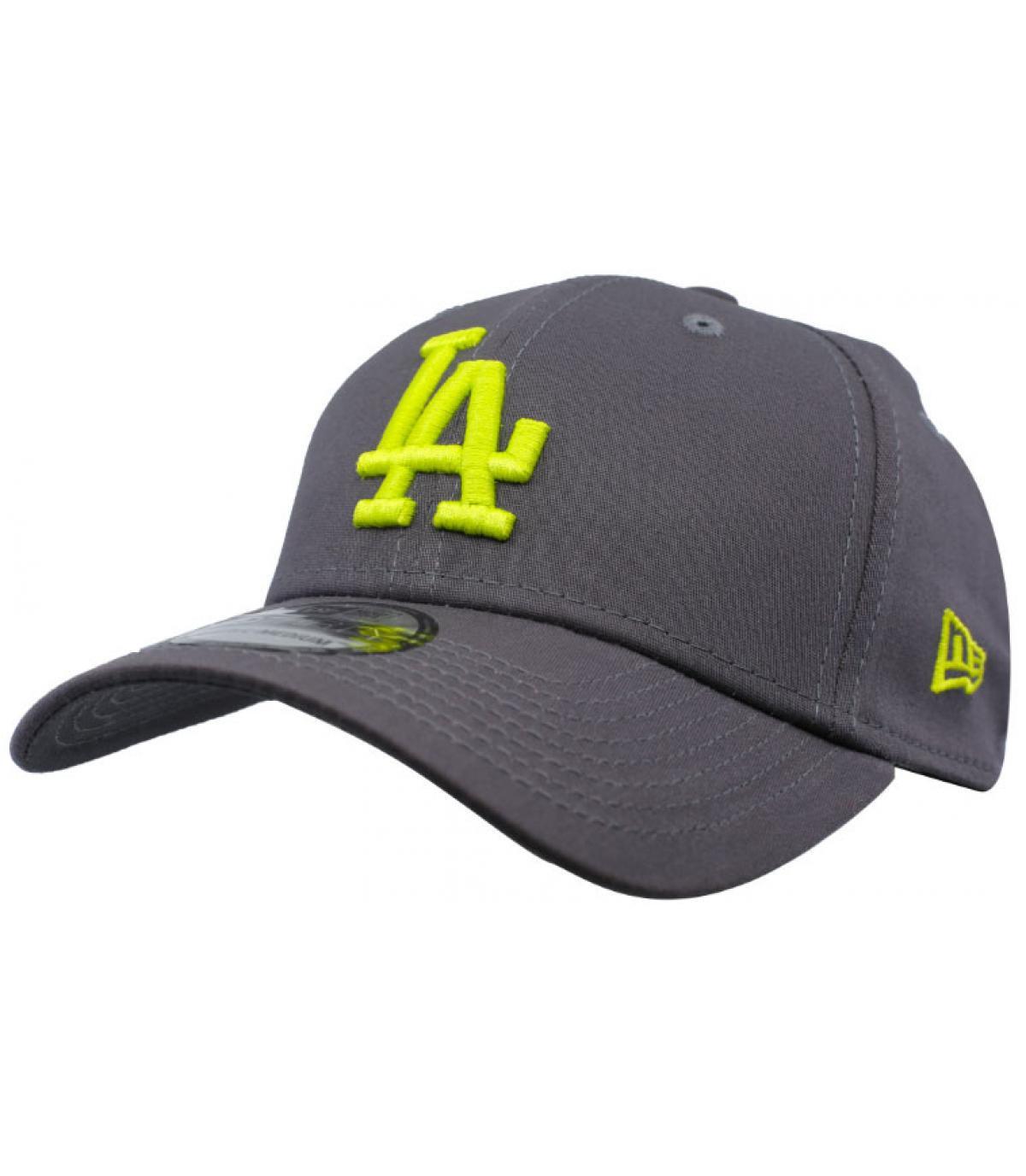 Details Cap League Ess LA 39Thirty graphite cyber yellow - Abbildung 2