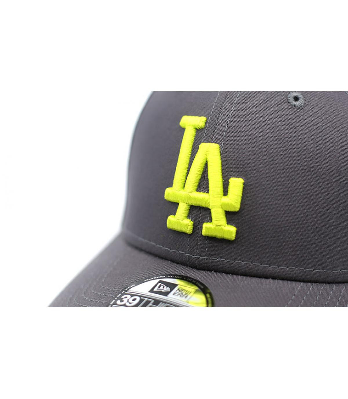 Details Cap League Ess LA 39Thirty graphite cyber yellow - Abbildung 3