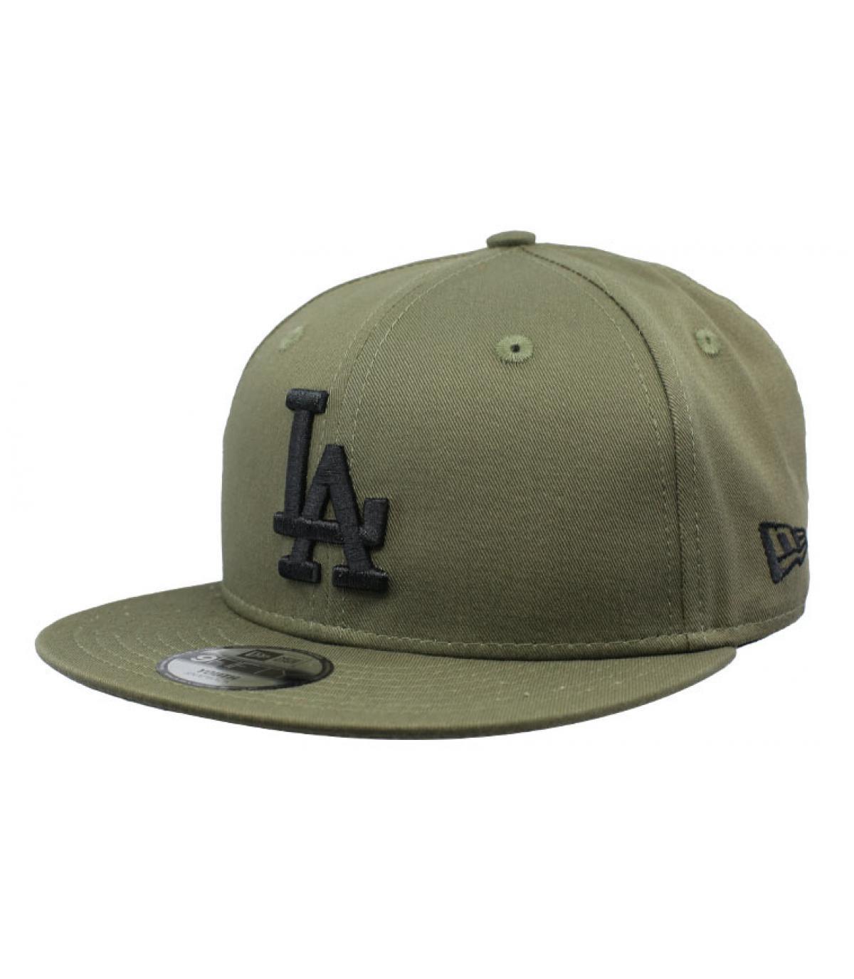 snapback LA grün schwarz