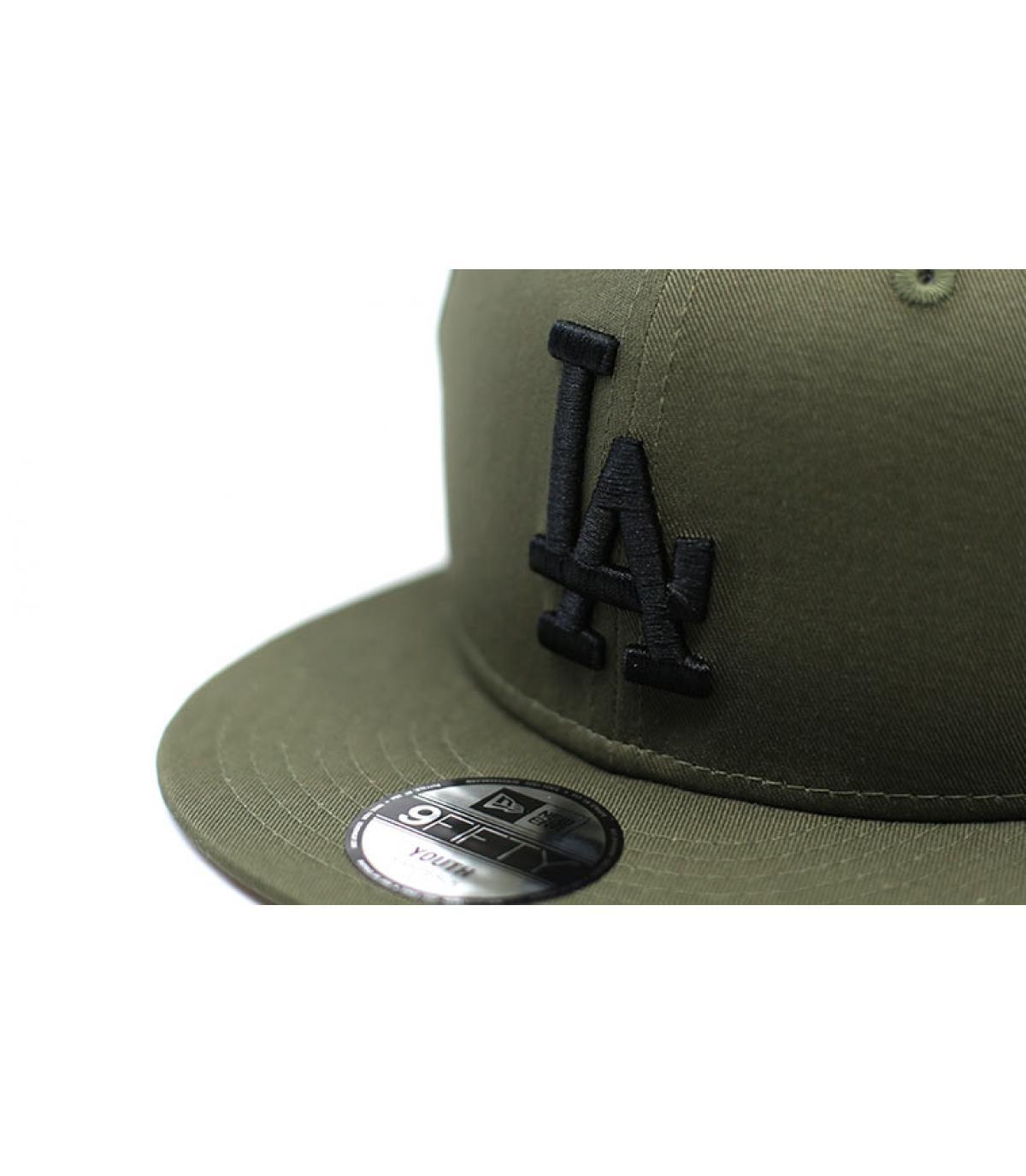 Details Snapback League Ess LA 9Fifty black olive black - Abbildung 3