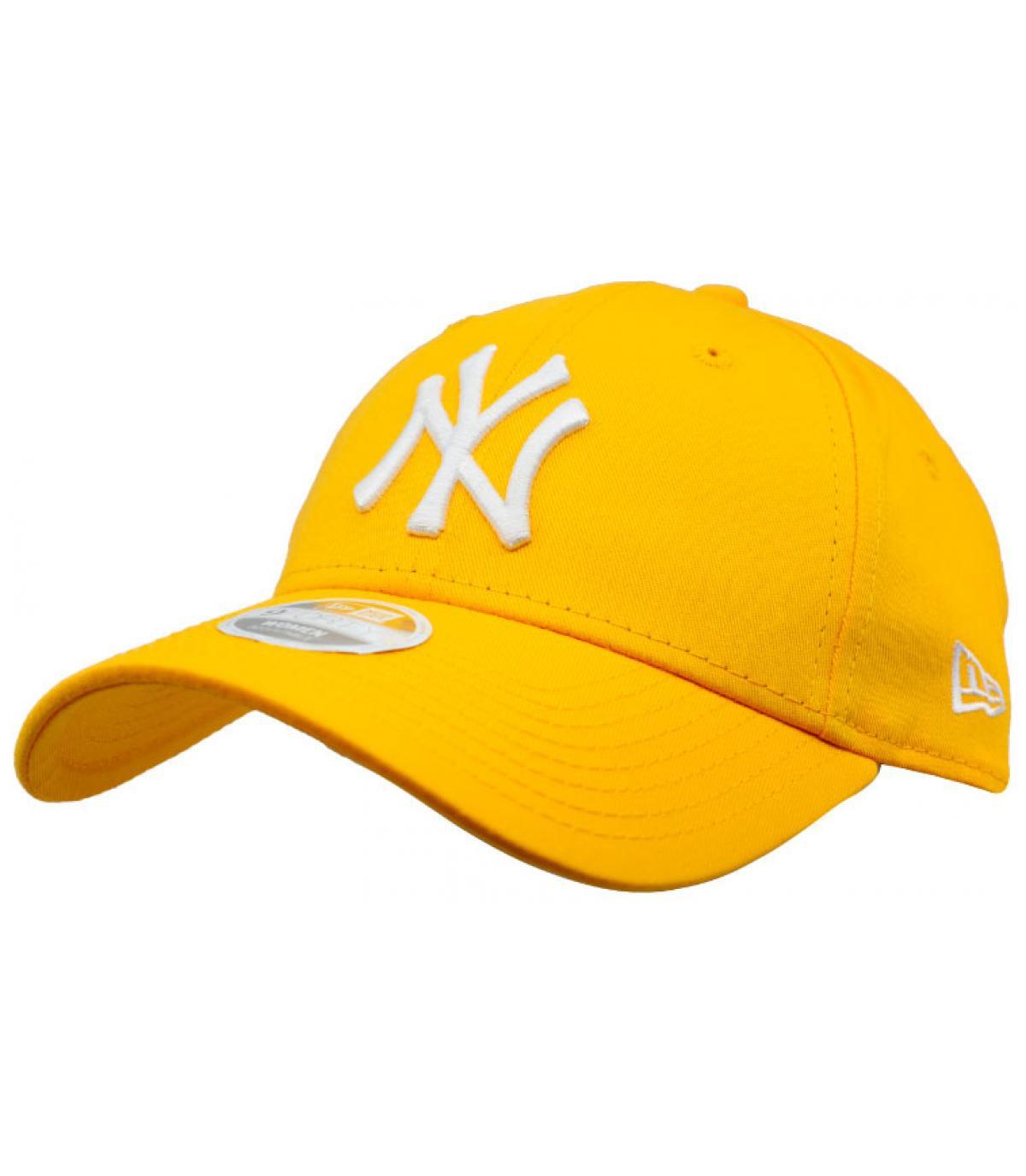 Damen Cap NY gelb