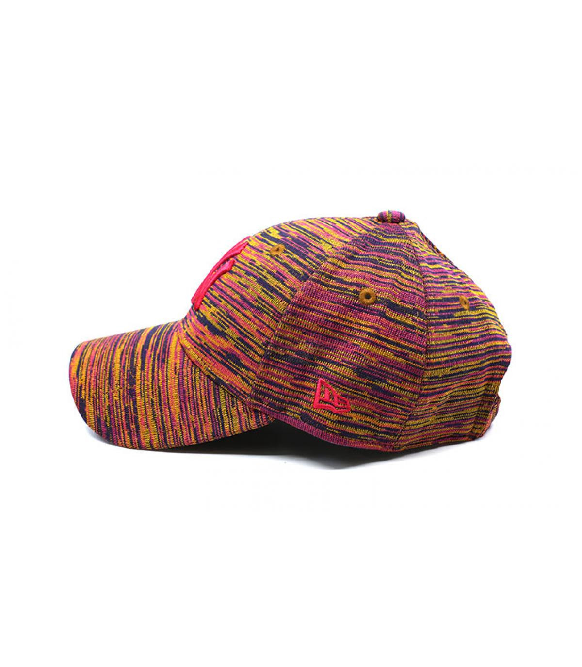 Details Cap Wmns Enginnered Fit NY 9Forty navy beetroot purple gold - Abbildung 4