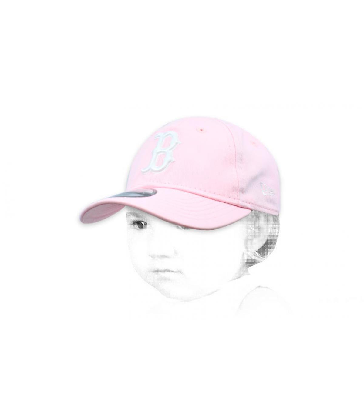 Baby Cap B rosa