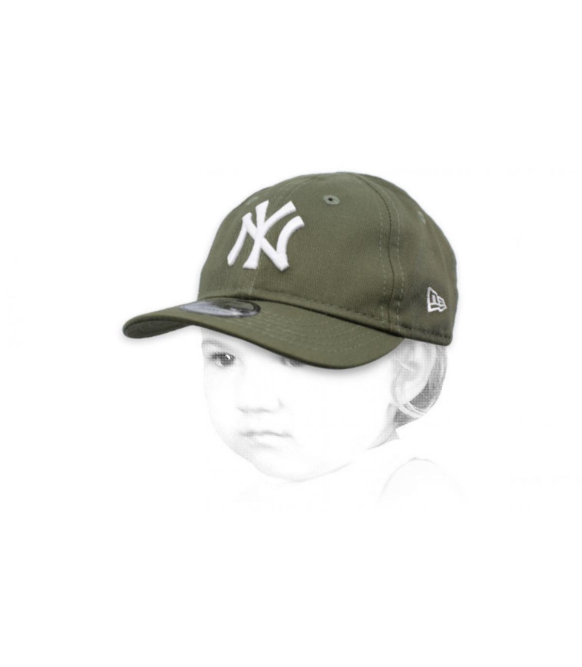 Baby NY Cap  grün