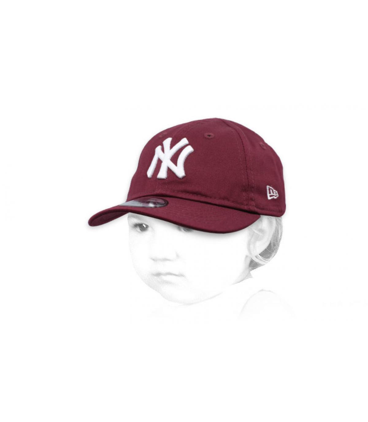Baby NY Cap  violett