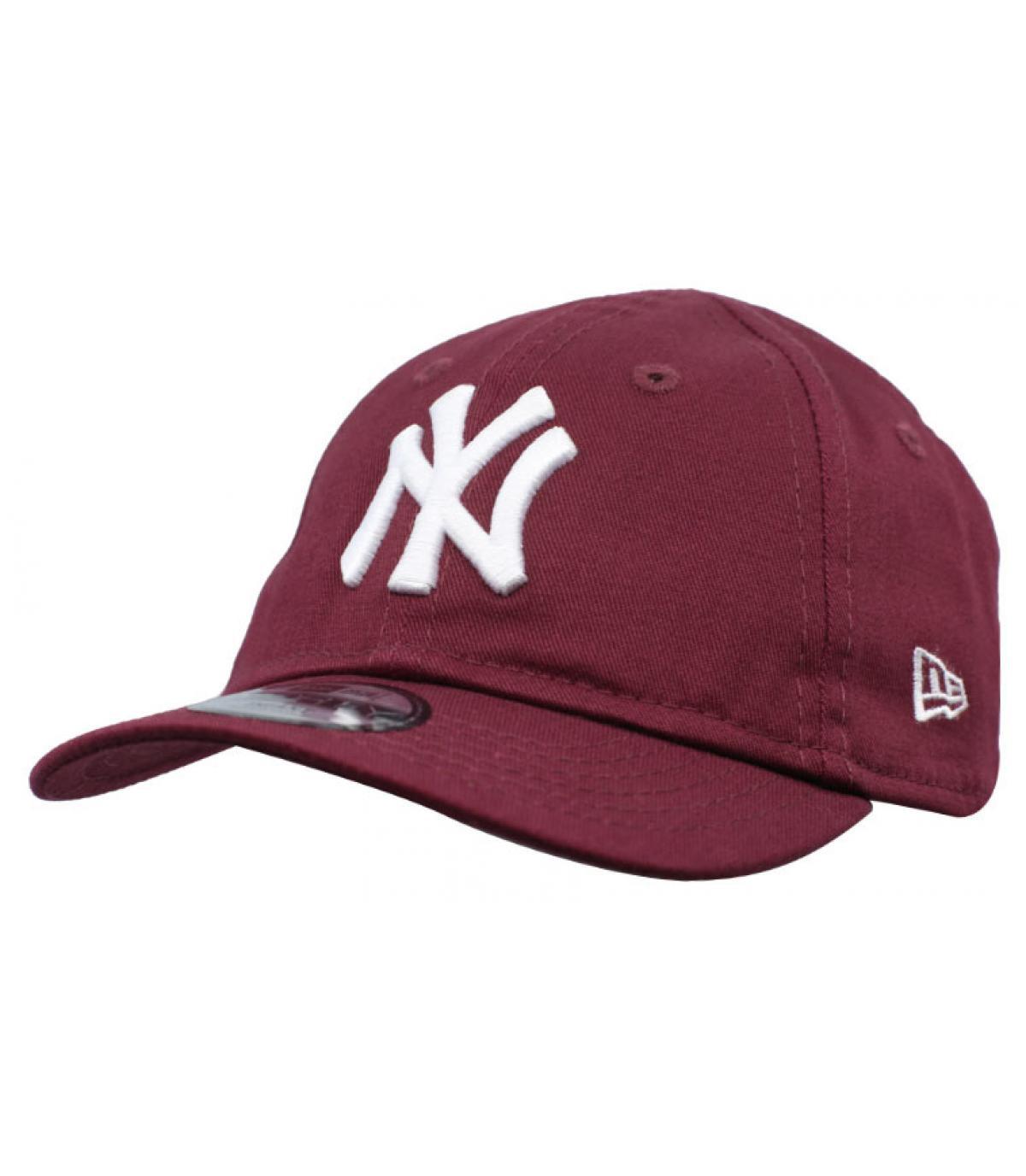 Details Baby Cap League Ess NY 9Forty maroon - Abbildung 2