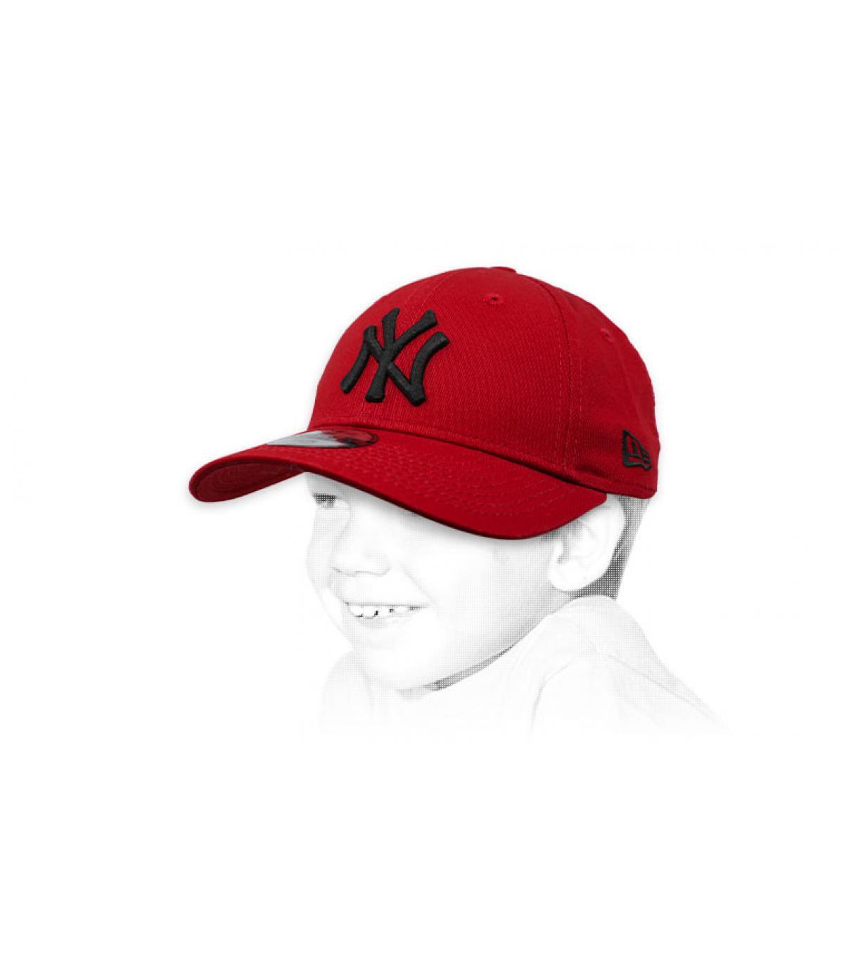 Kinder Cap NY bordeaux