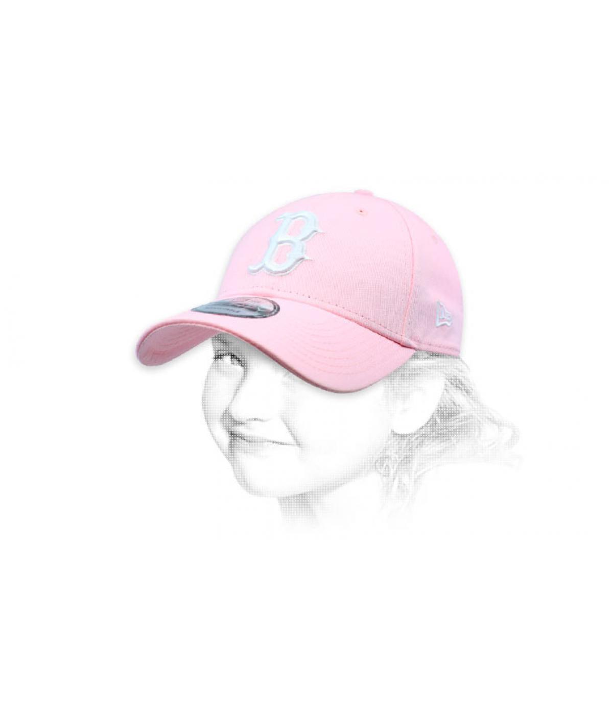 Kinder Cap B rosa