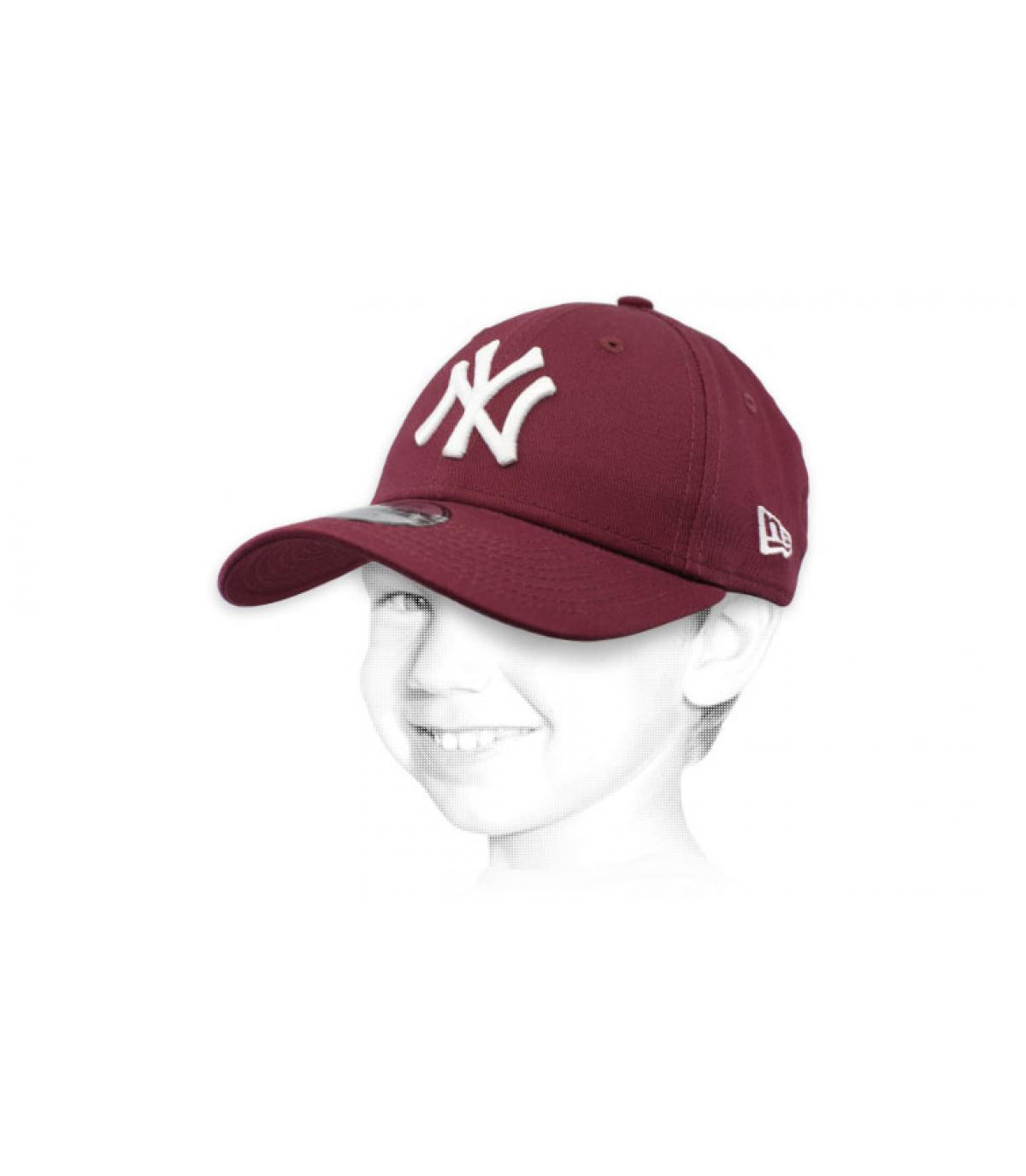 Kinder Cap NY violett