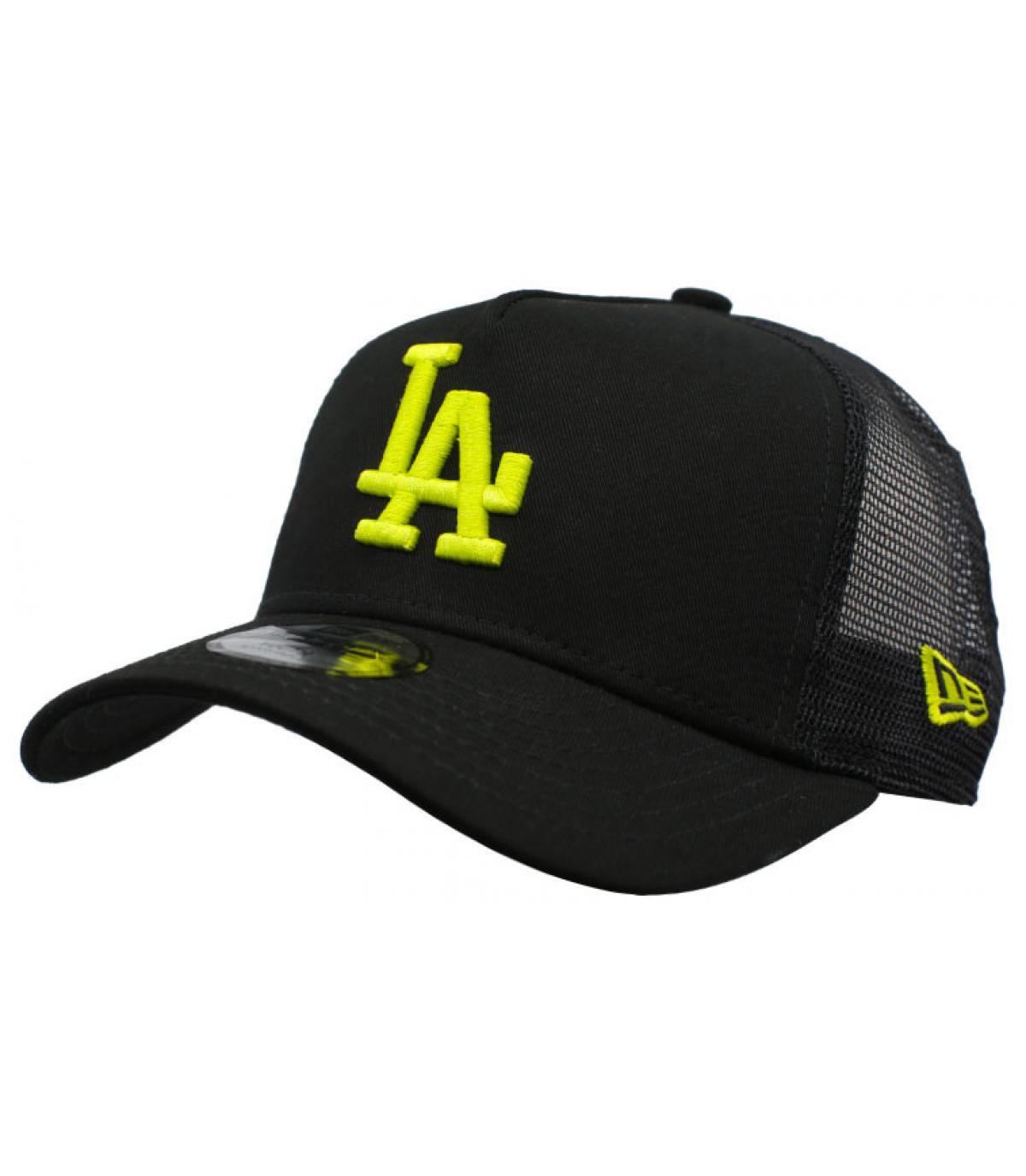 Kinder Trucker LA schwarz gelb