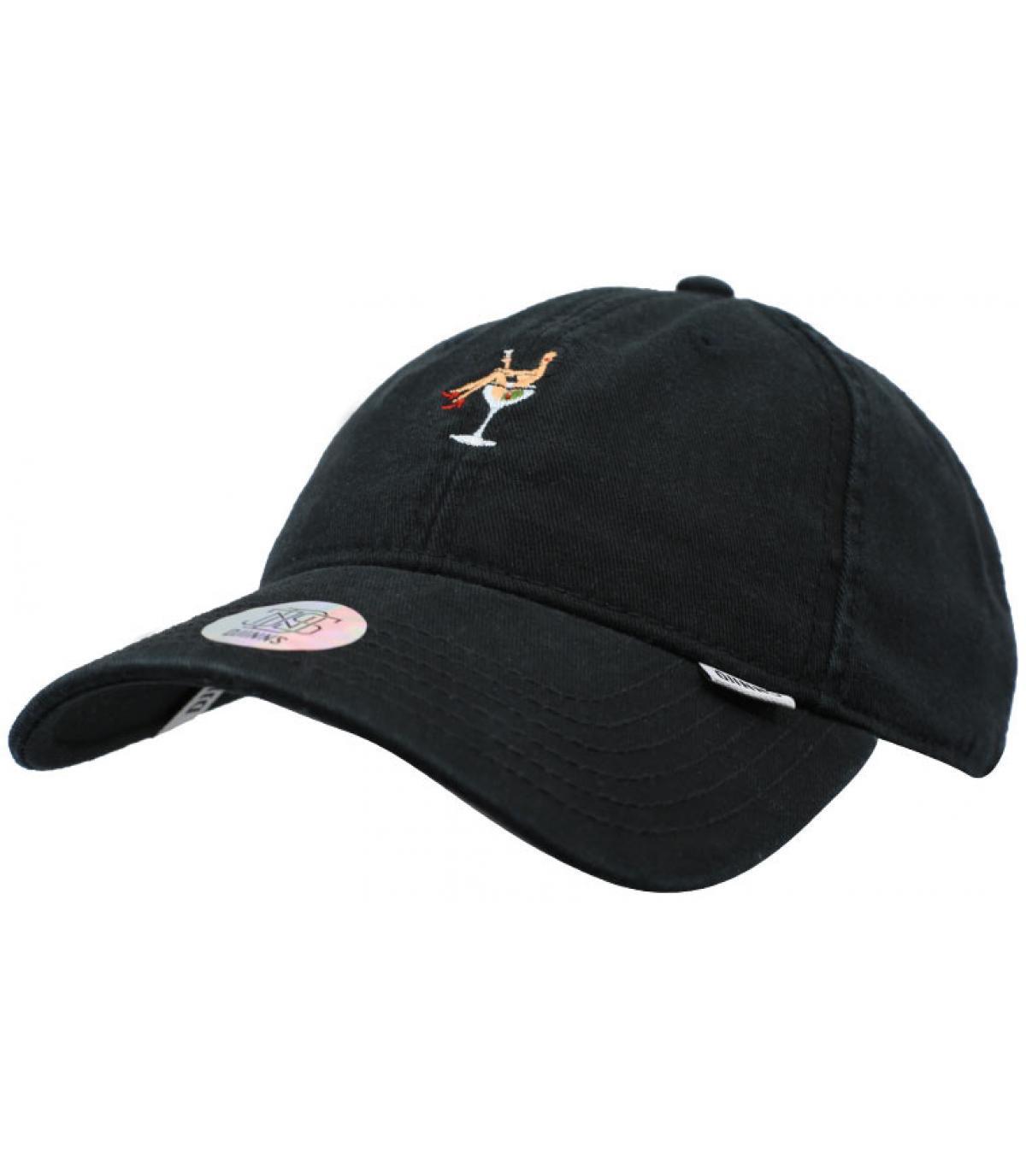 Schwarze Caps