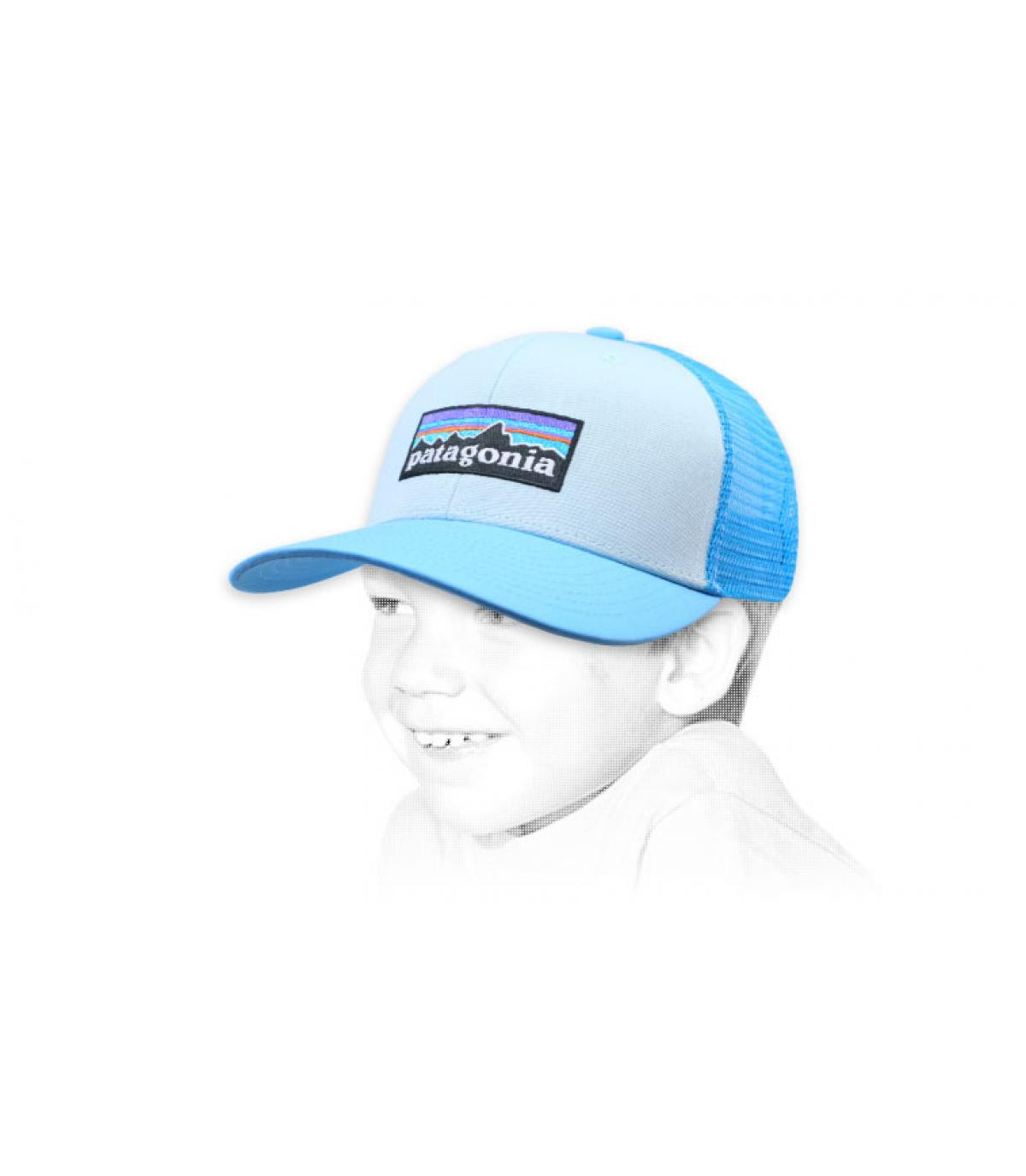Kinder Trucker blau Patagonia
