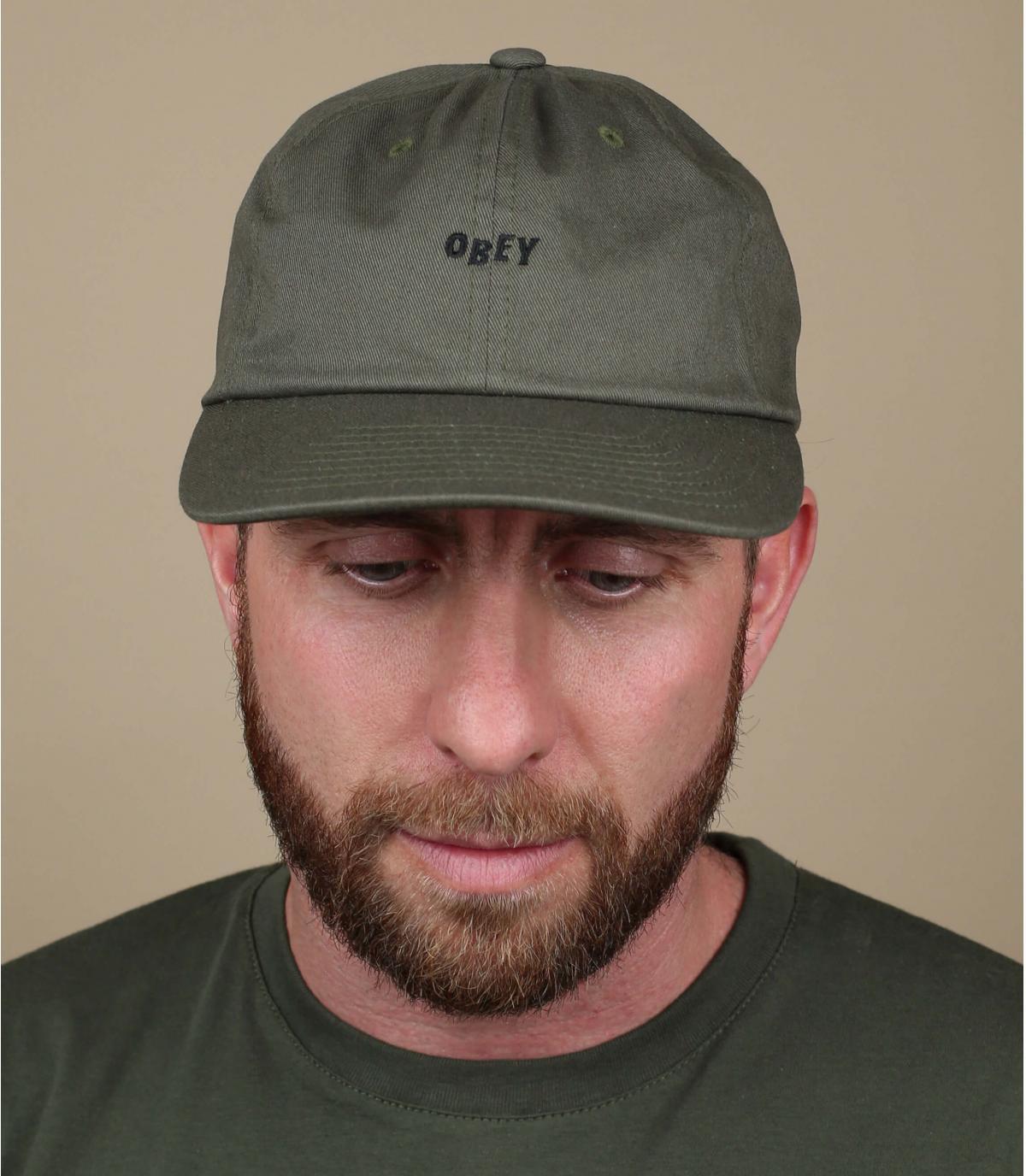 Cap Obey olivgrün