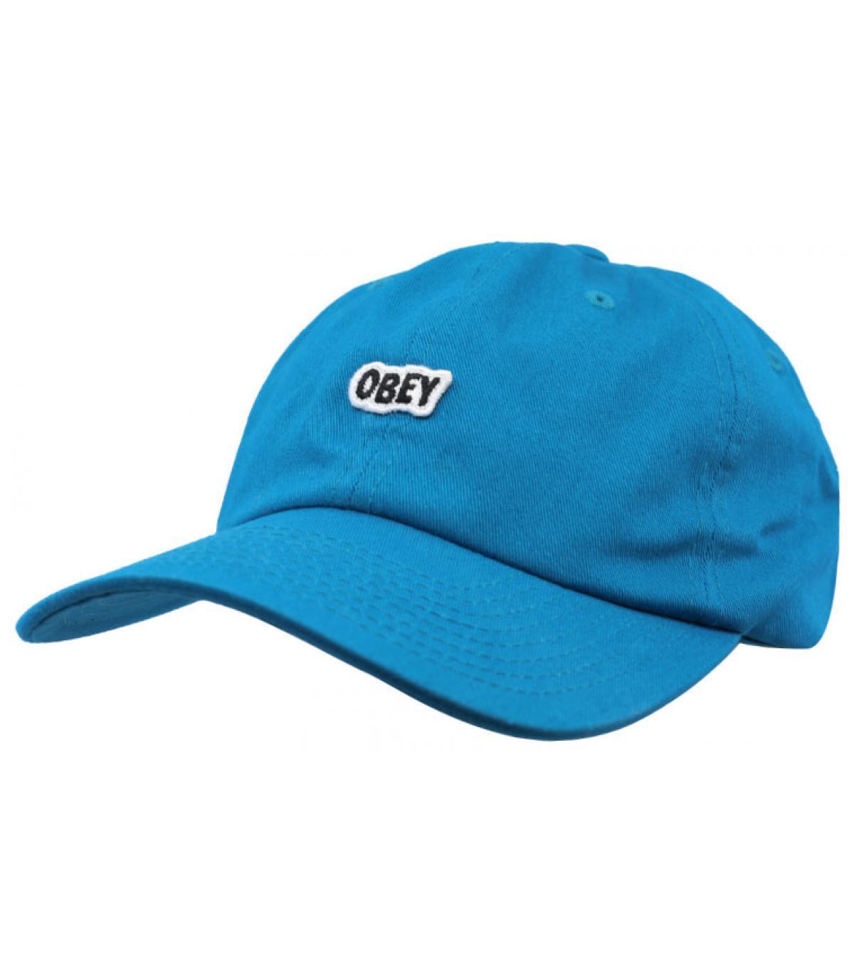 Cap Obey blau