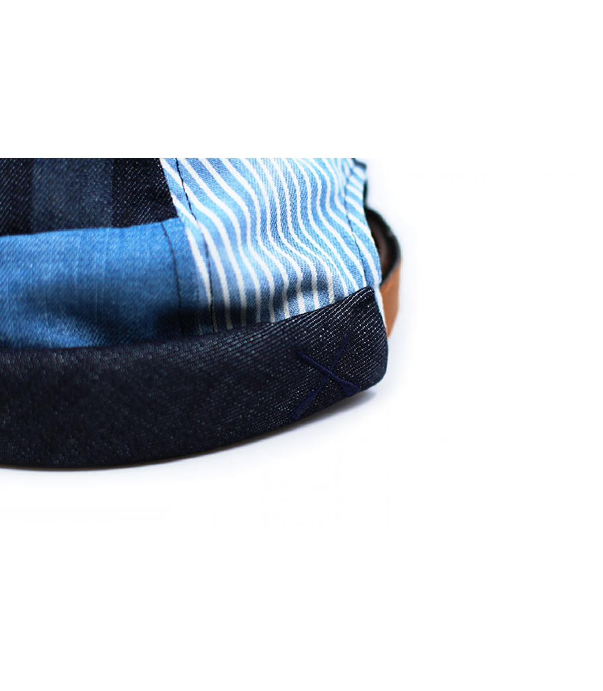 Details Miki Patchwork denim blue - Abbildung 5