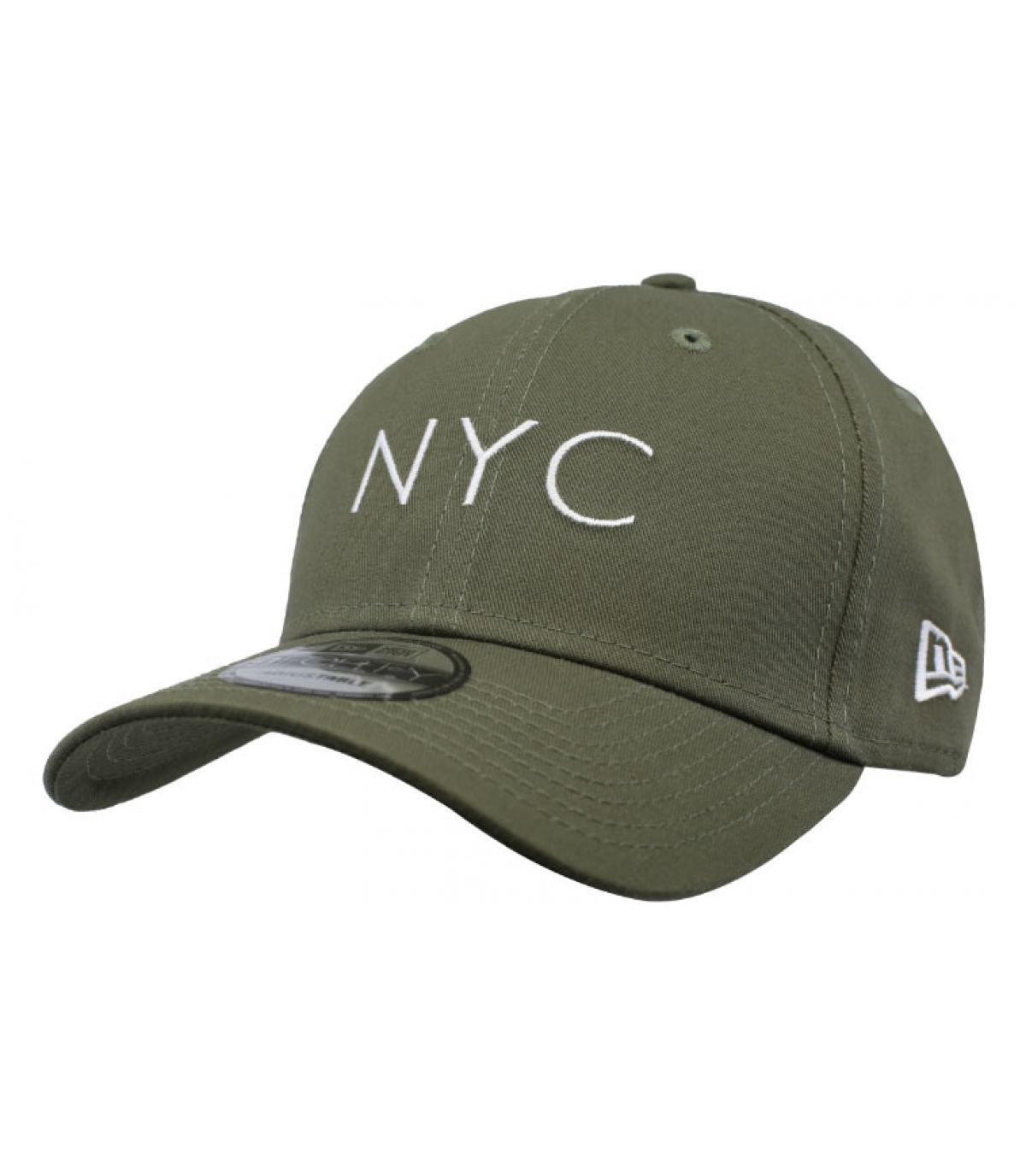 Cap NYC olivgrün