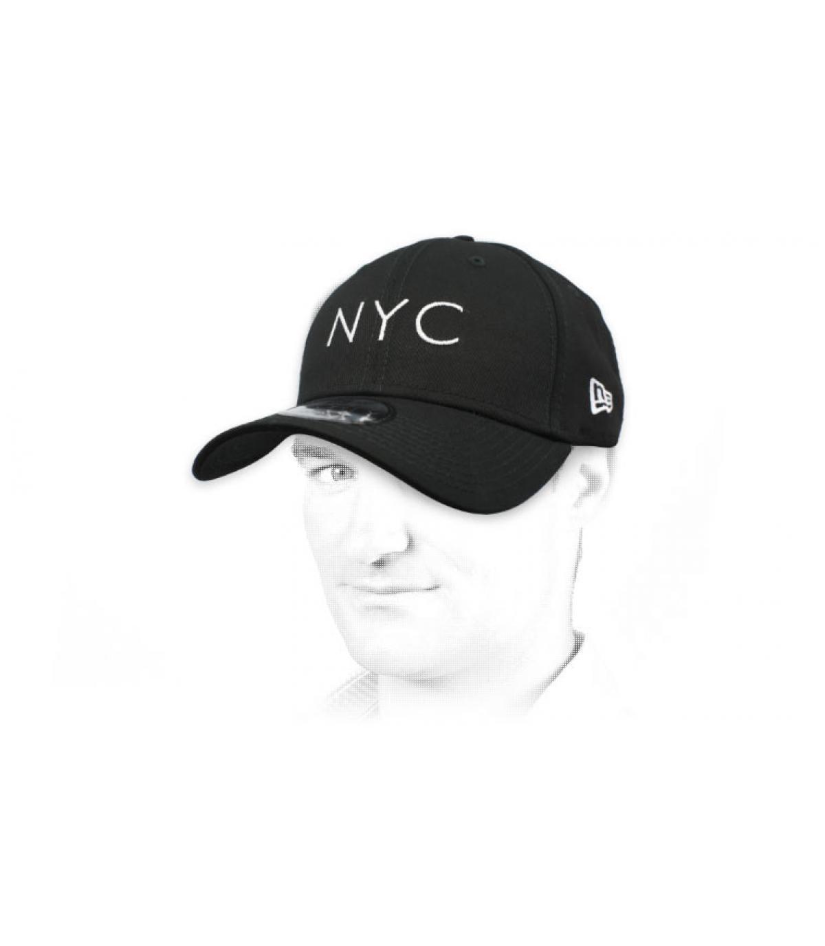 Cap NYC schwarz