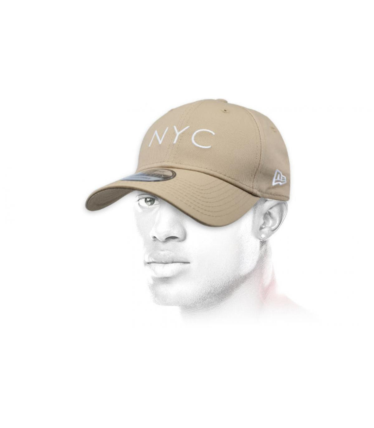 Cap NYC beige