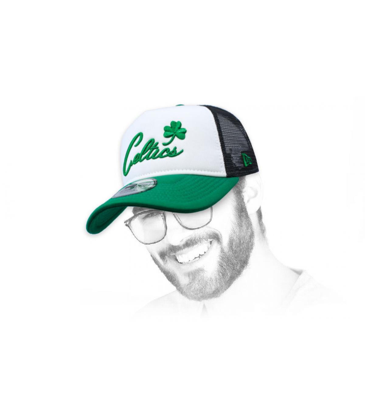 Trucker Celtics grün