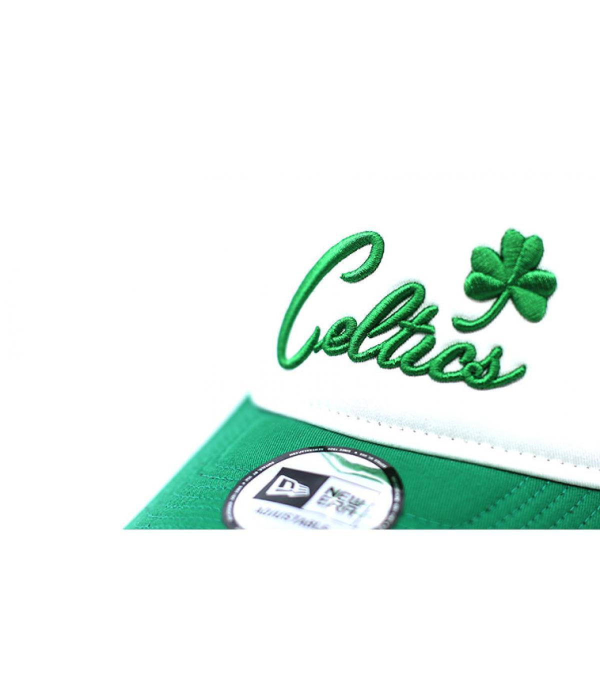 Details Trucker Celtics Color block - Abbildung 3