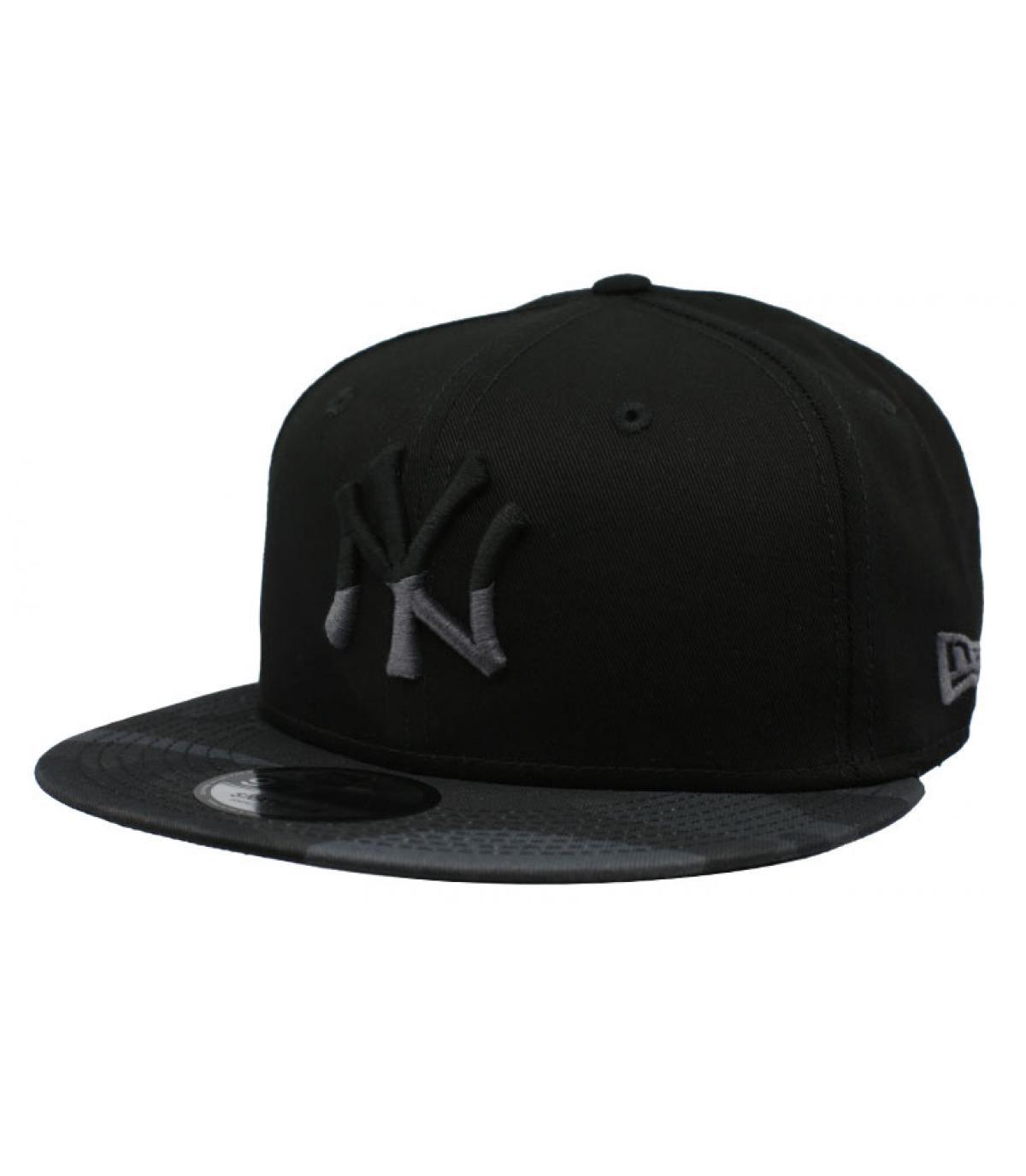 Snapback NY schwarz